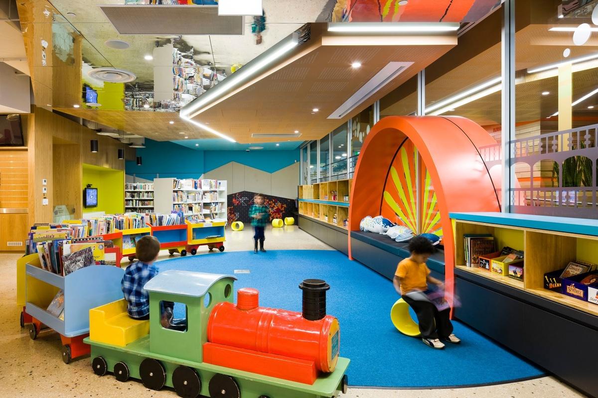 Biblioteca para niños de Murray, en Australia (Sam noonan)