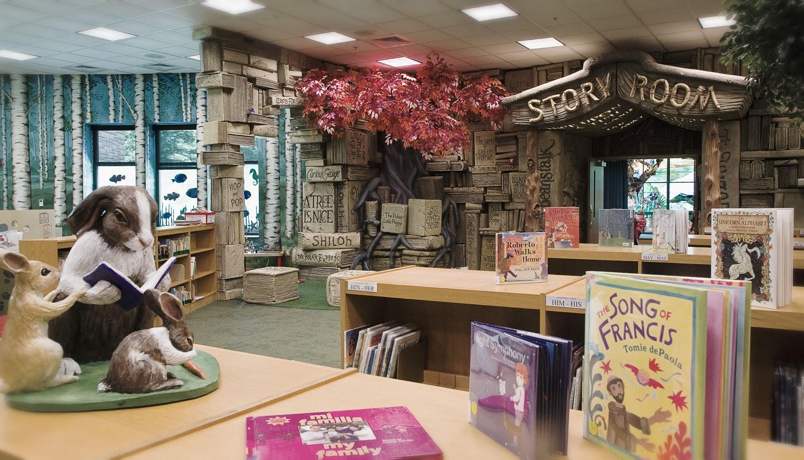 La biblioteca para niños de Brentwood, en Tennessee, Estados Unidos (Brentwood Children's Library)