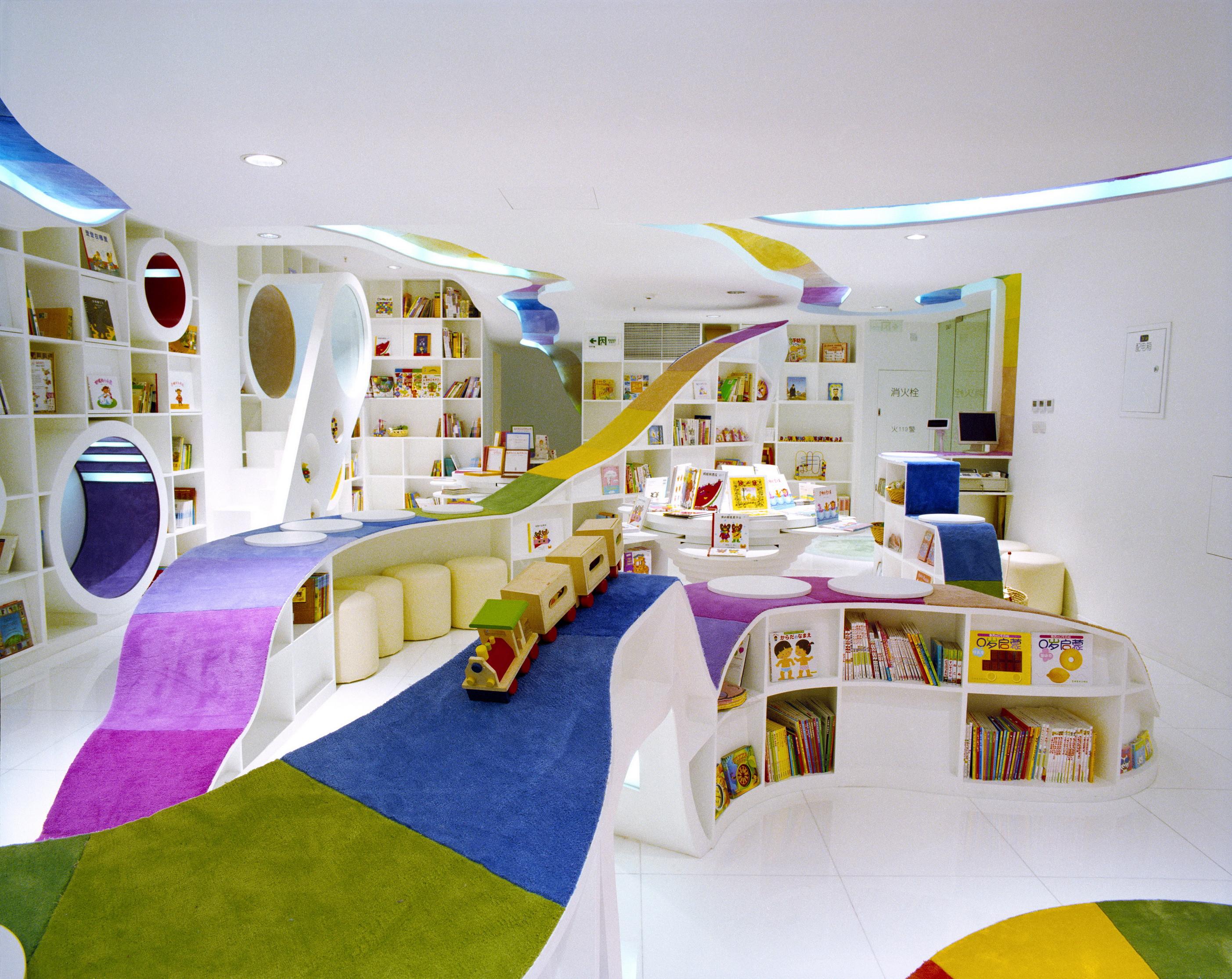 La librería Poplar, en Beijing, diseñada por Sako Architects (Minoru iwasaki)