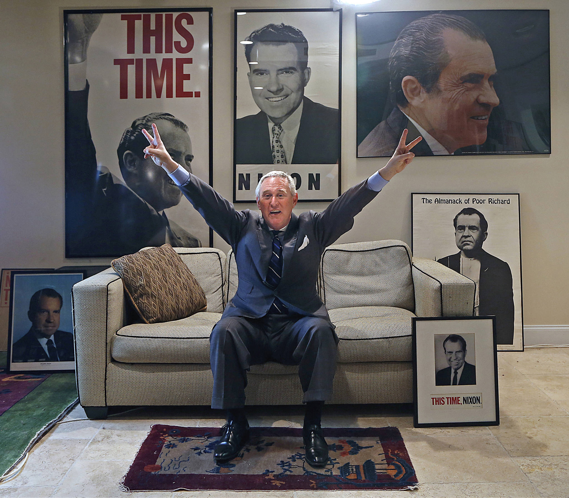 """El """"Salón de Nixonia"""", la memorabilia de Nixon"""