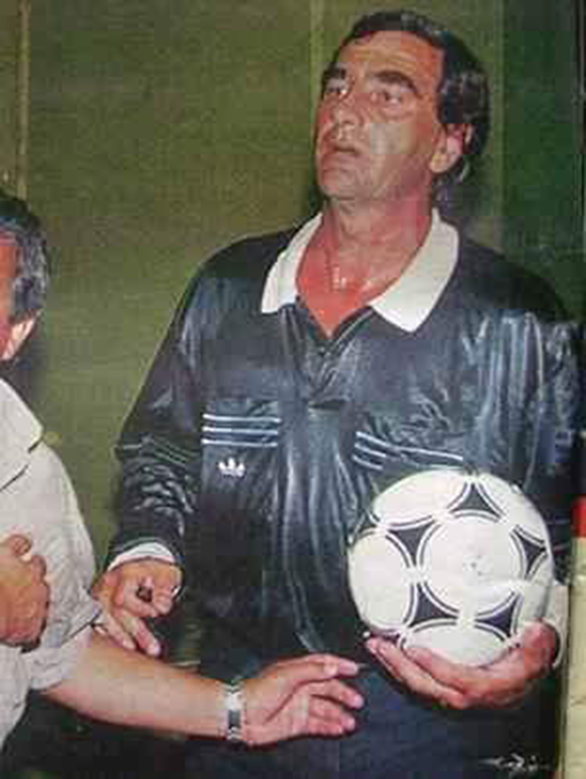 Juan Bava, uno de los árbitros involucrados