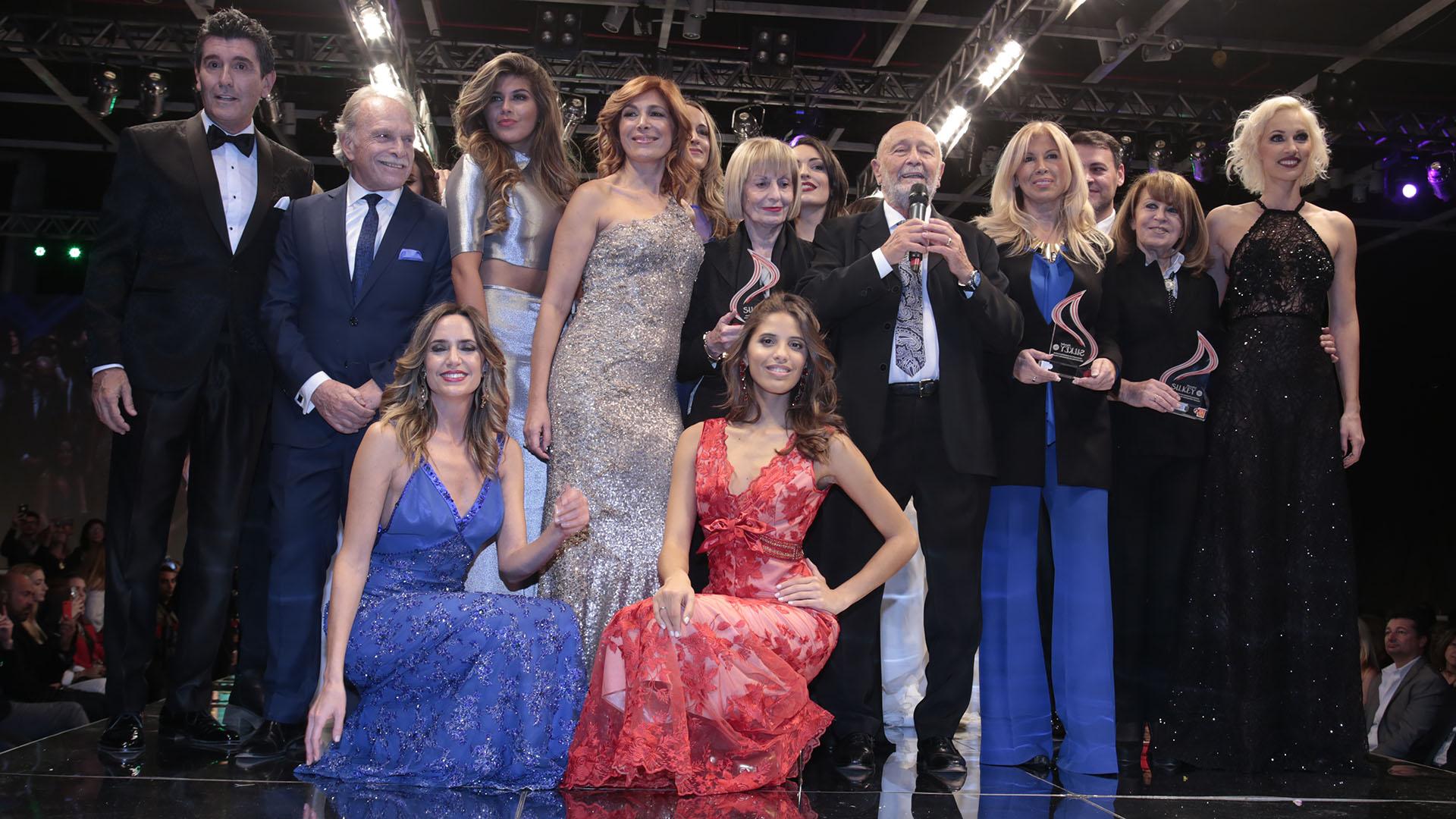 El cierre del desfile de Silkey Mundial Salón Internacional Moda & Coiffure 2017 (Christian Bochichio)