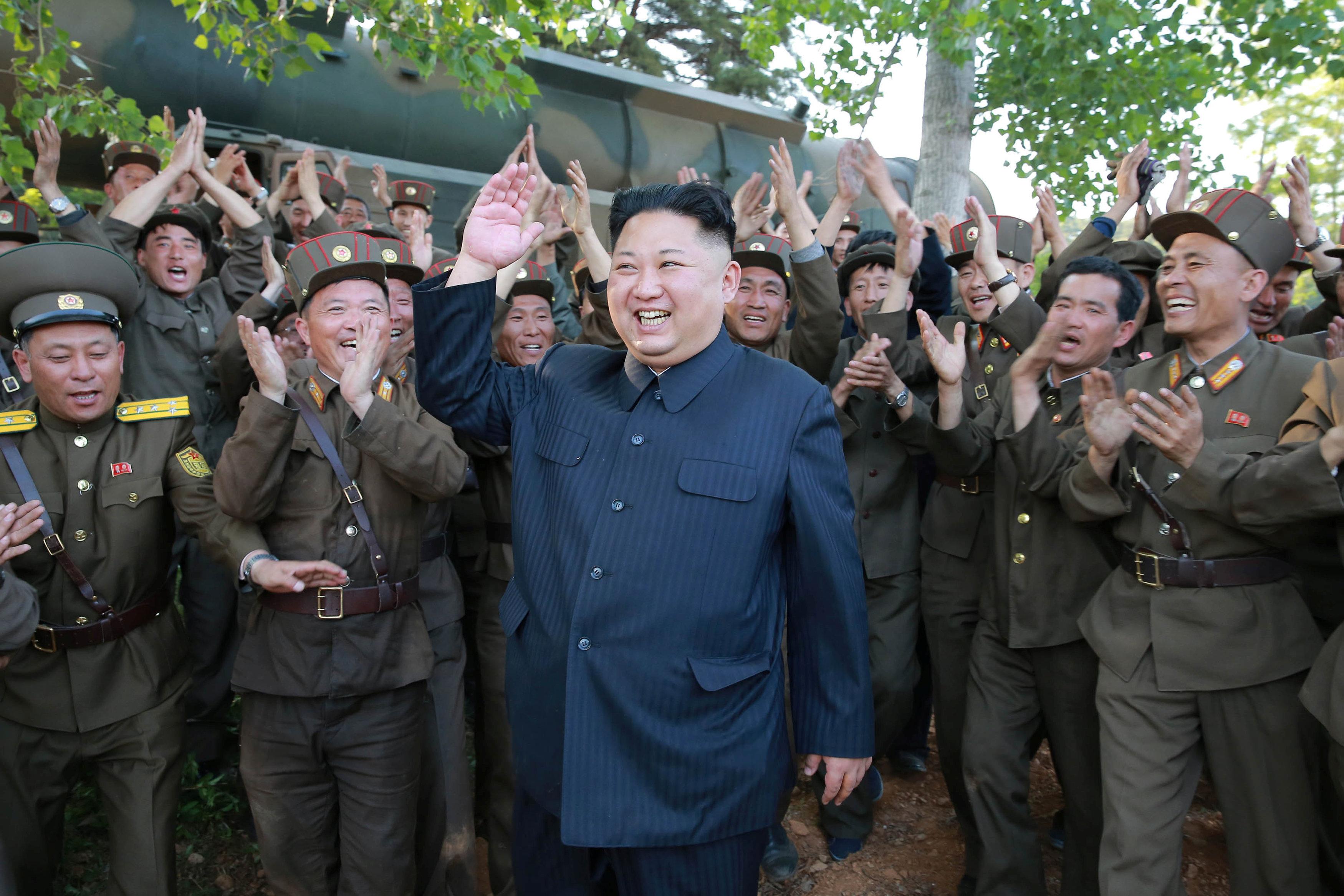 Kim Jong-un.(Reuters)