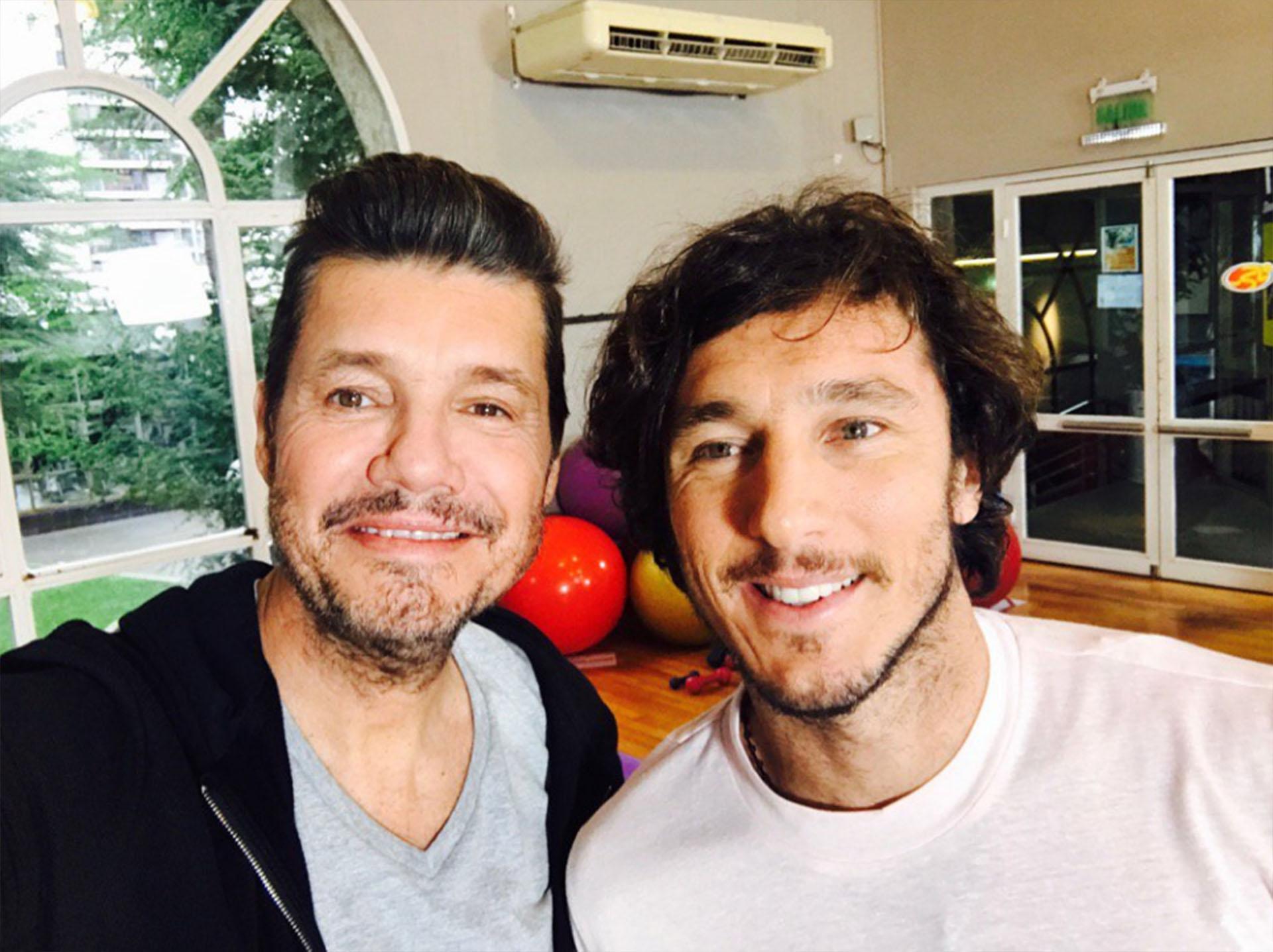 Marcelo Tinelli y Pico Mónaco