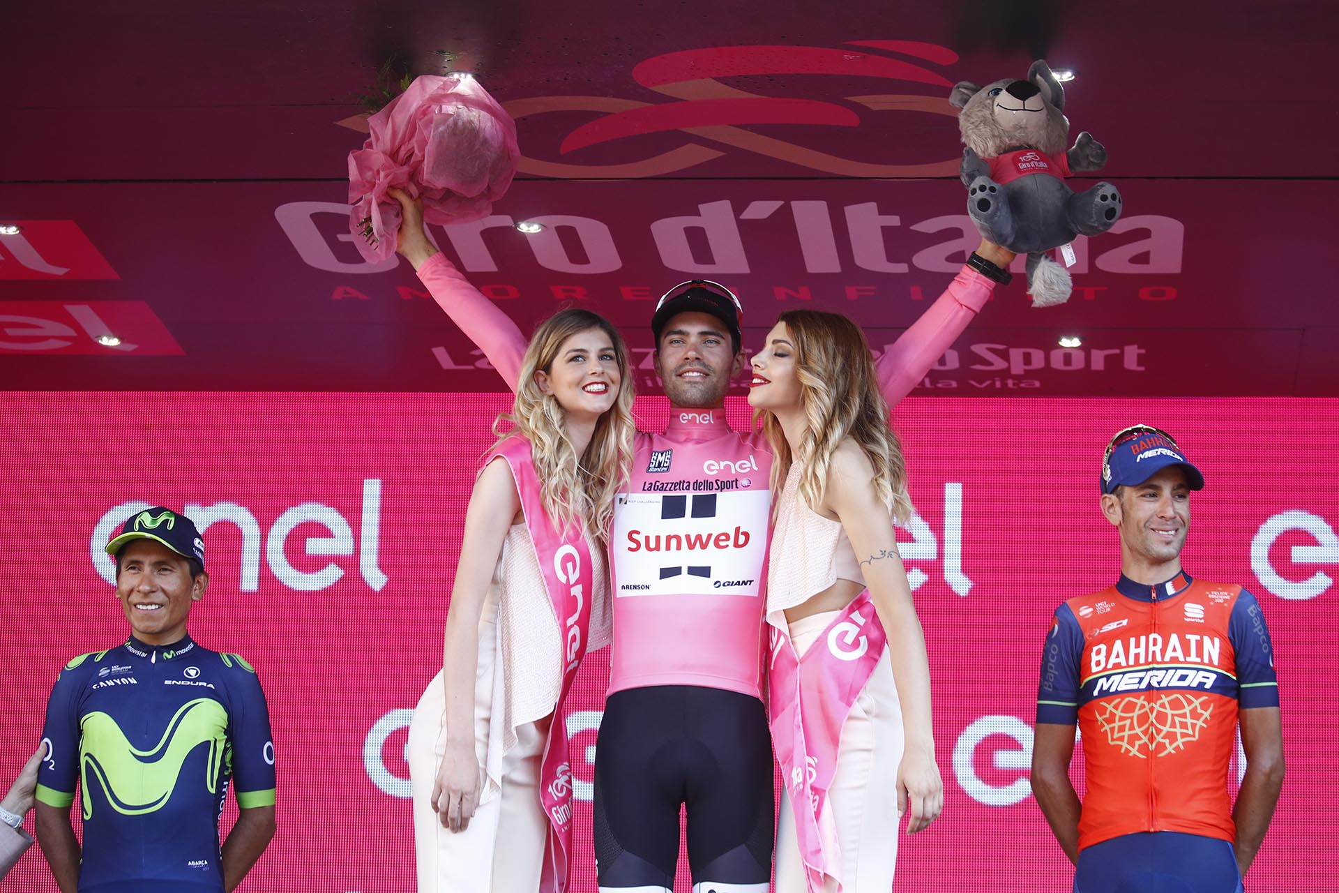 Tom Dumoulin, ganador del Giro de Italia