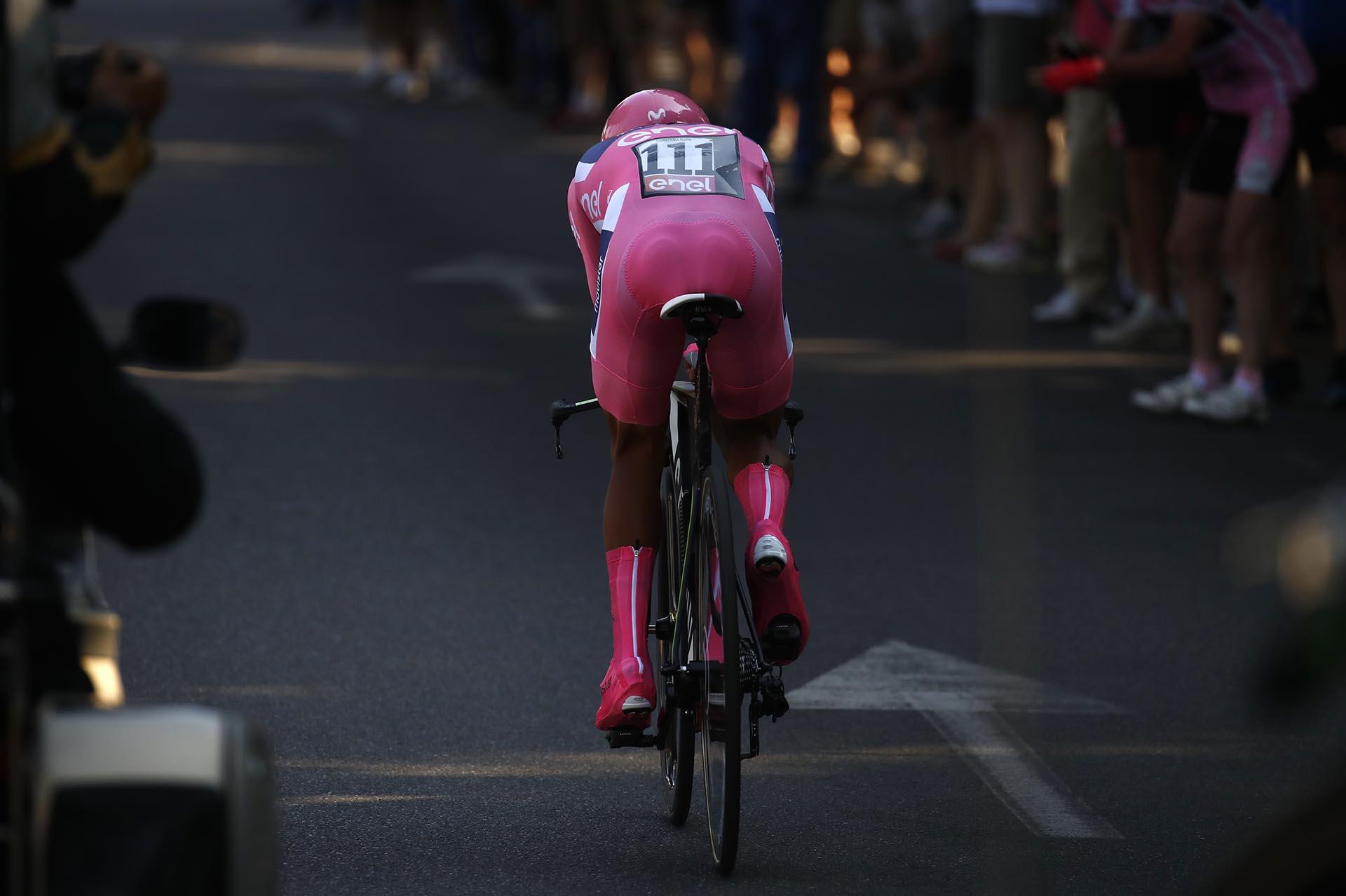 El colombiano Nairo Quintana era el líder antes del inicio de la última etapaS