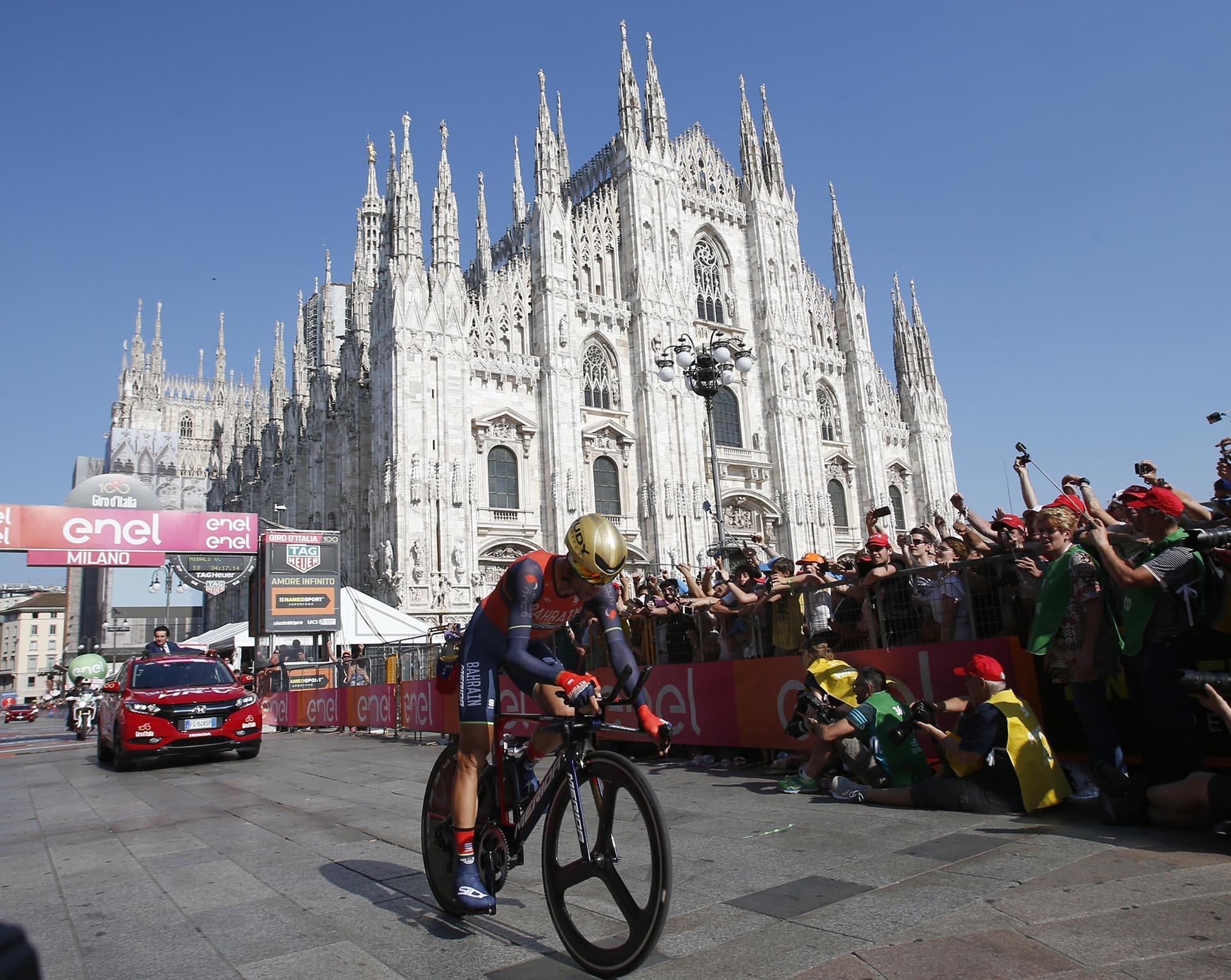 El italiano Vincenzo Nibaliterminó tercero