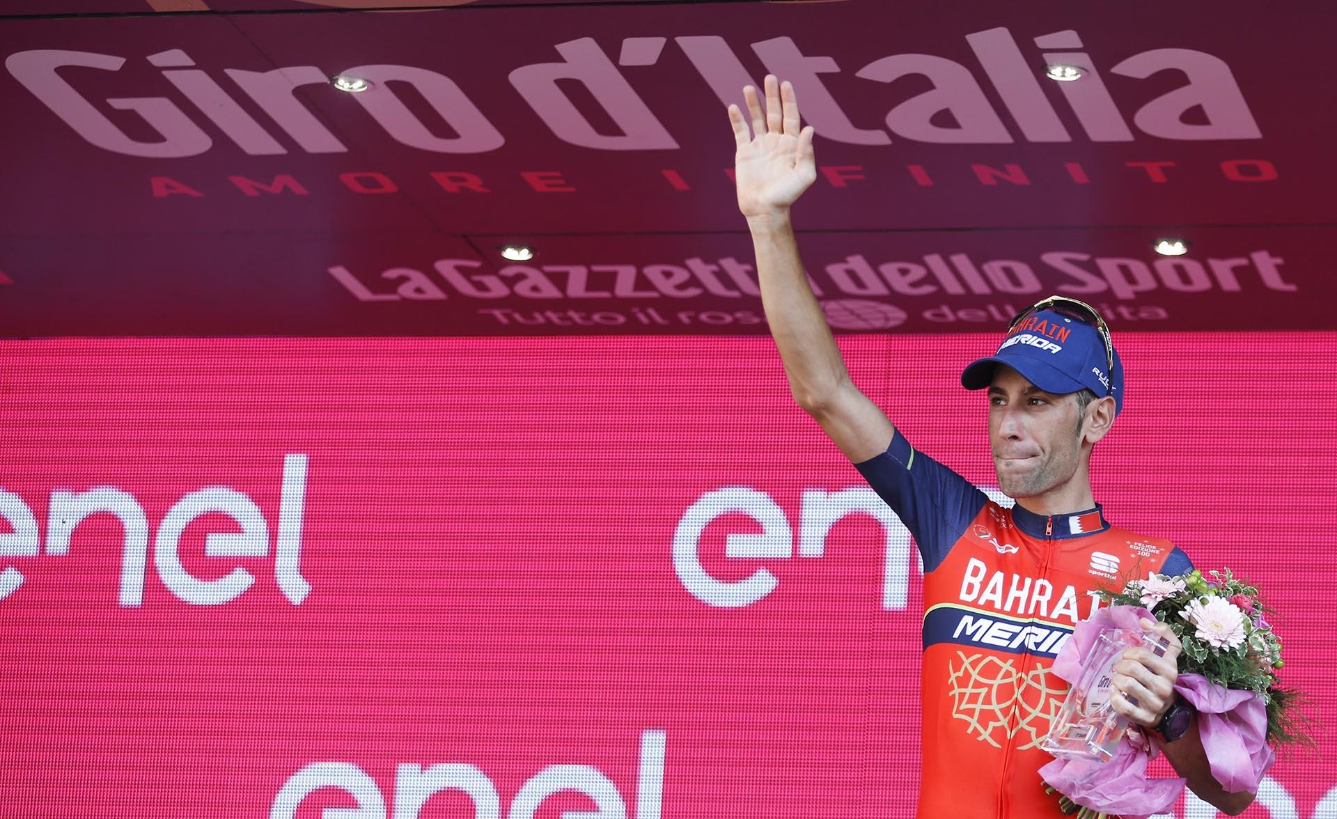 Vincenzo Nibaliganó el Giro de Italia en 2013 y 2016