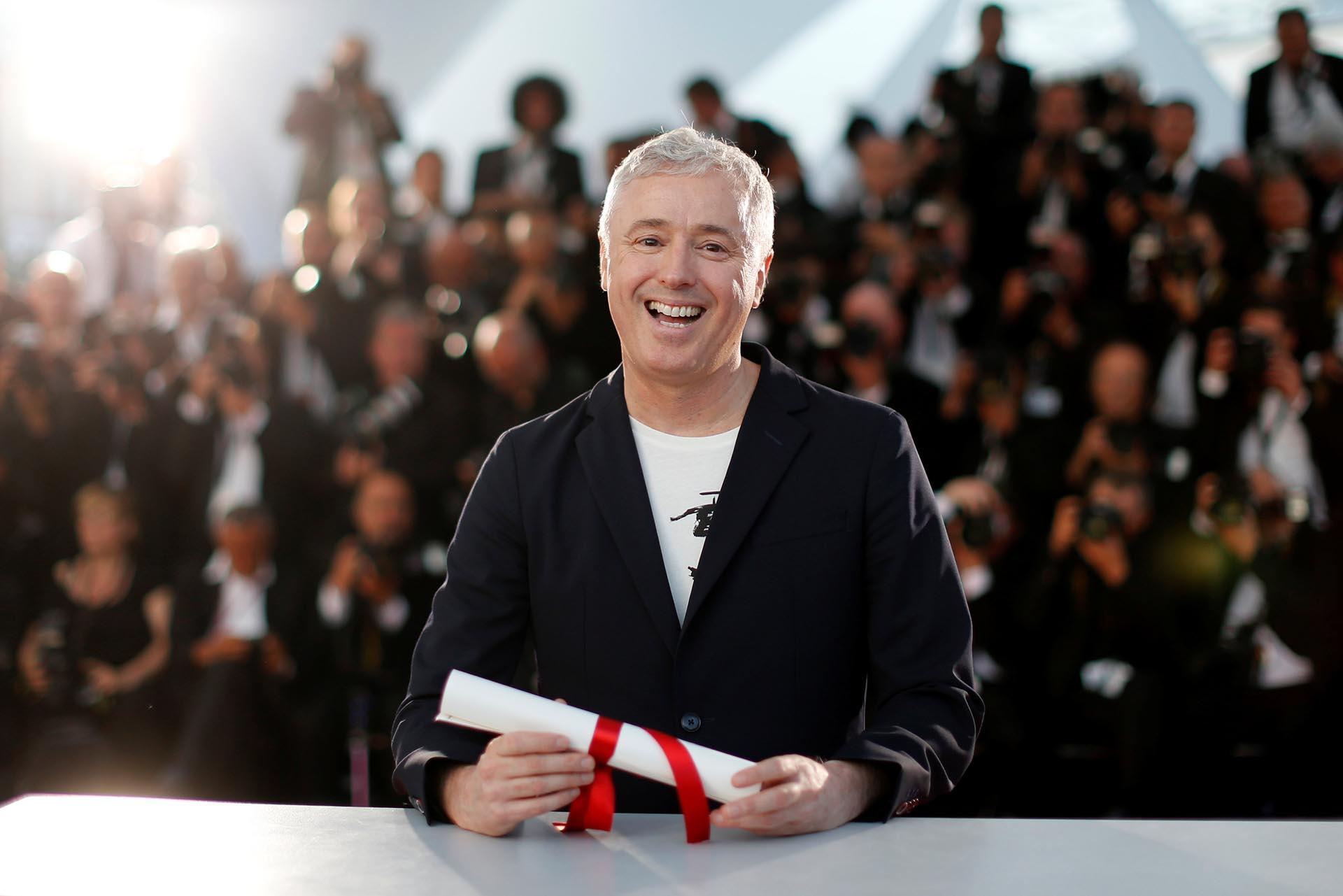 """Robin Campillo, director de """"120 battements par minute"""" REUTERS/Regis Duvignau"""