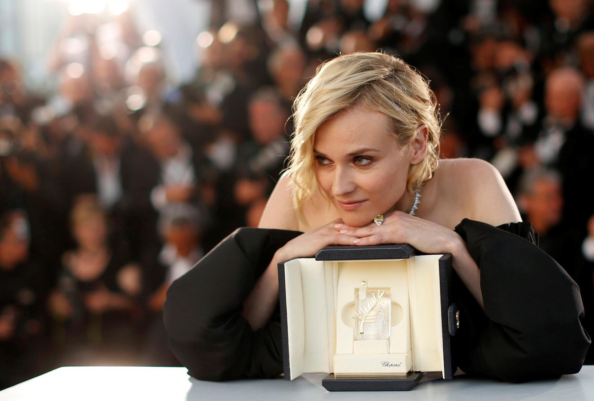 """Diane Kruger fue elegida como mejor actriz por su papel en la película """"In the Fade"""", de Fatih Akın"""