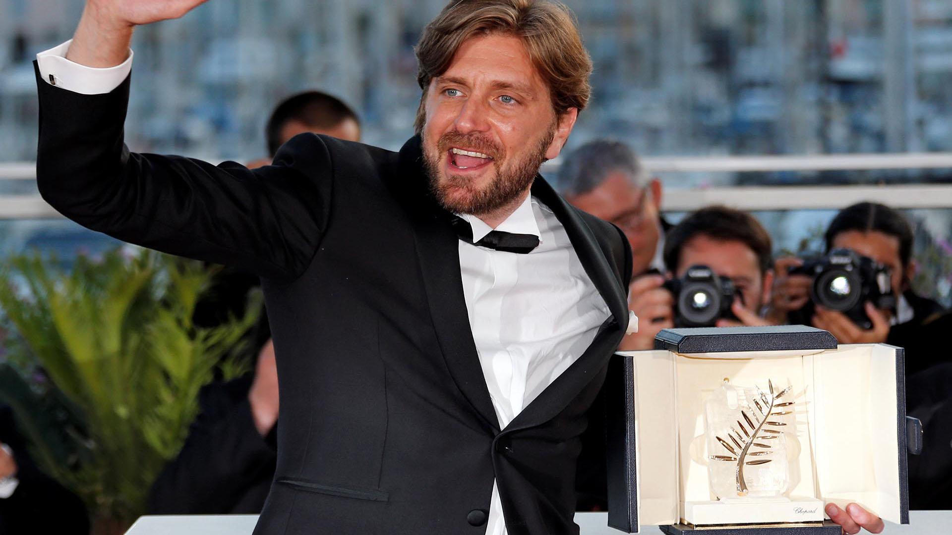 """El director sueco Ruben Östlund Ruben Ostlund ganador de la Palma de Oro por """"The Square"""""""