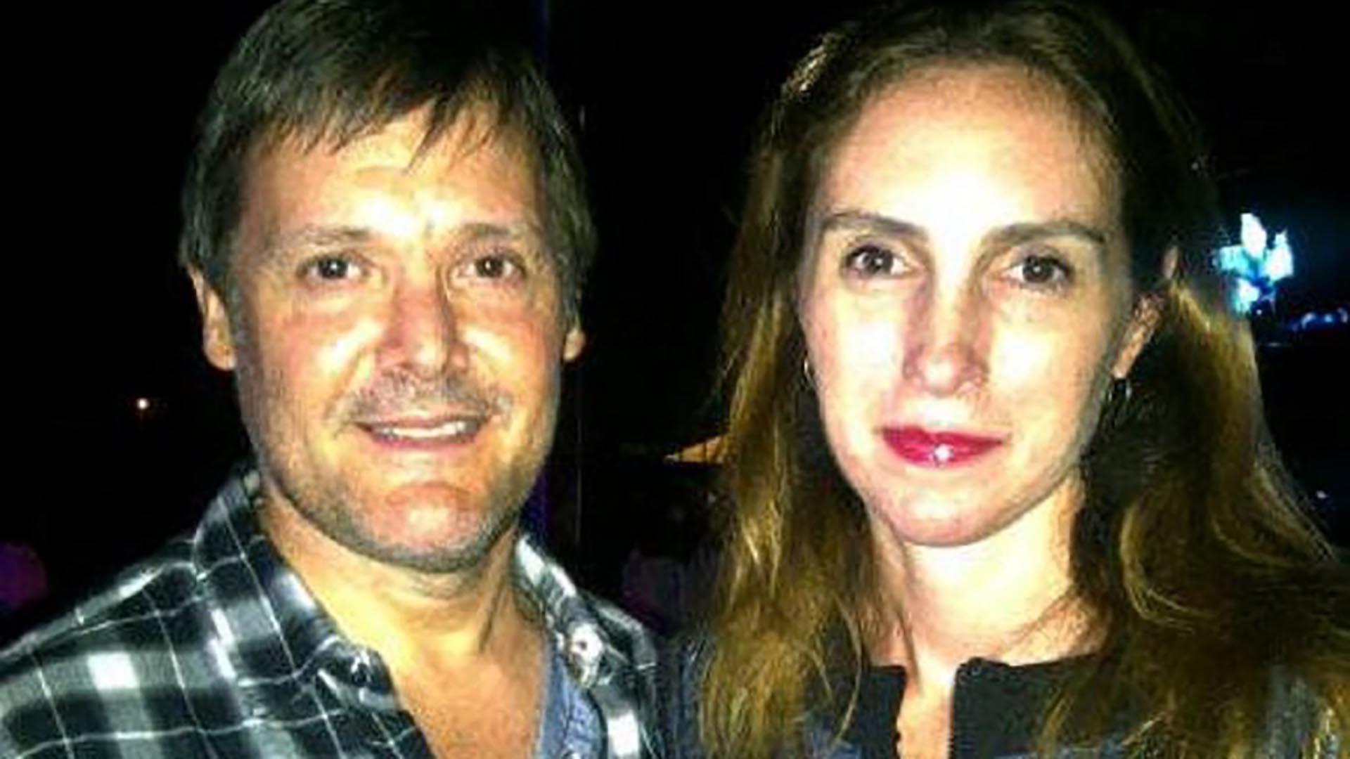 Fernando Farré y Claudia Schaefer