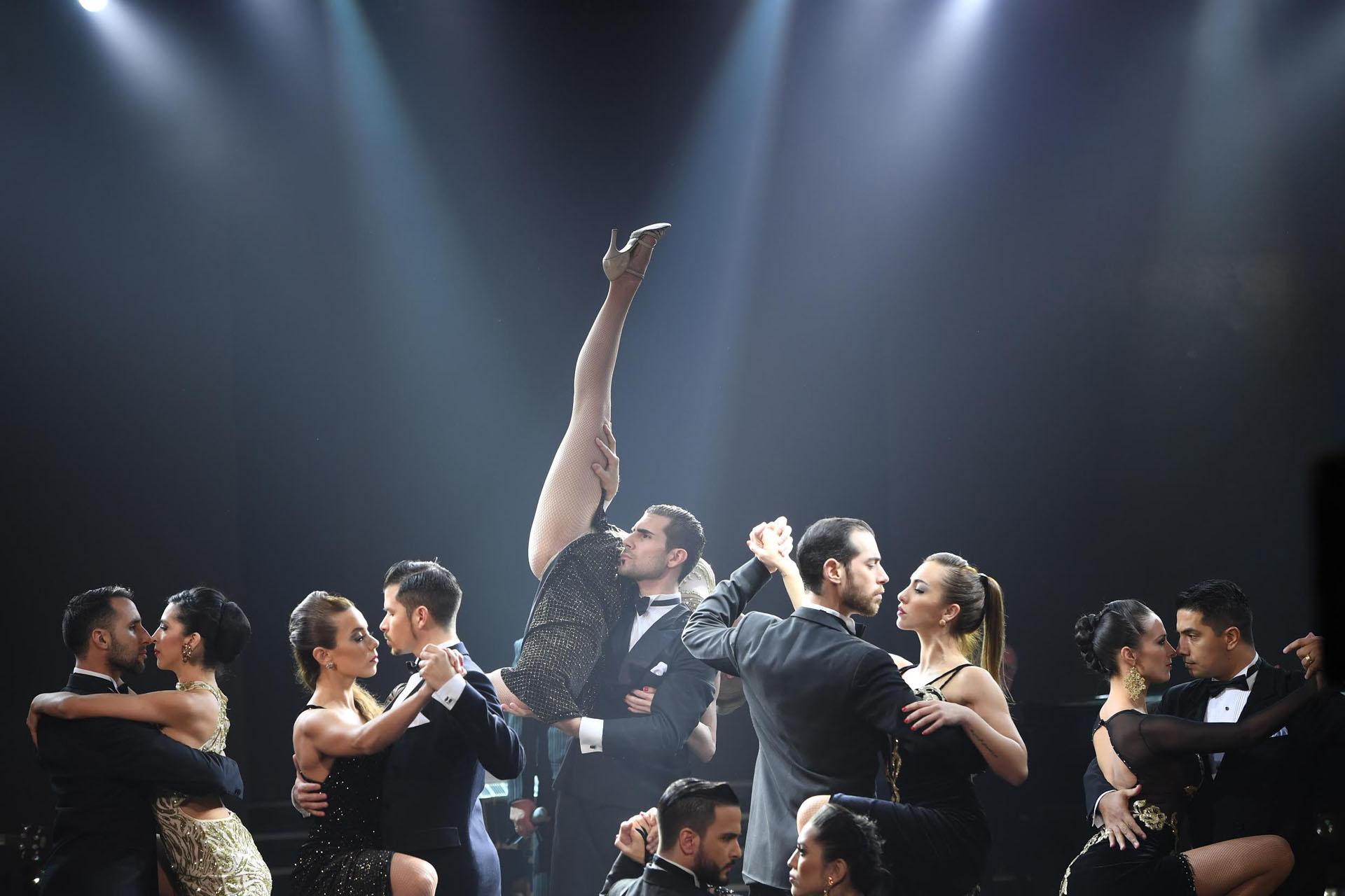 El tango tuvo su momento en la apertura musical de ShowMatch
