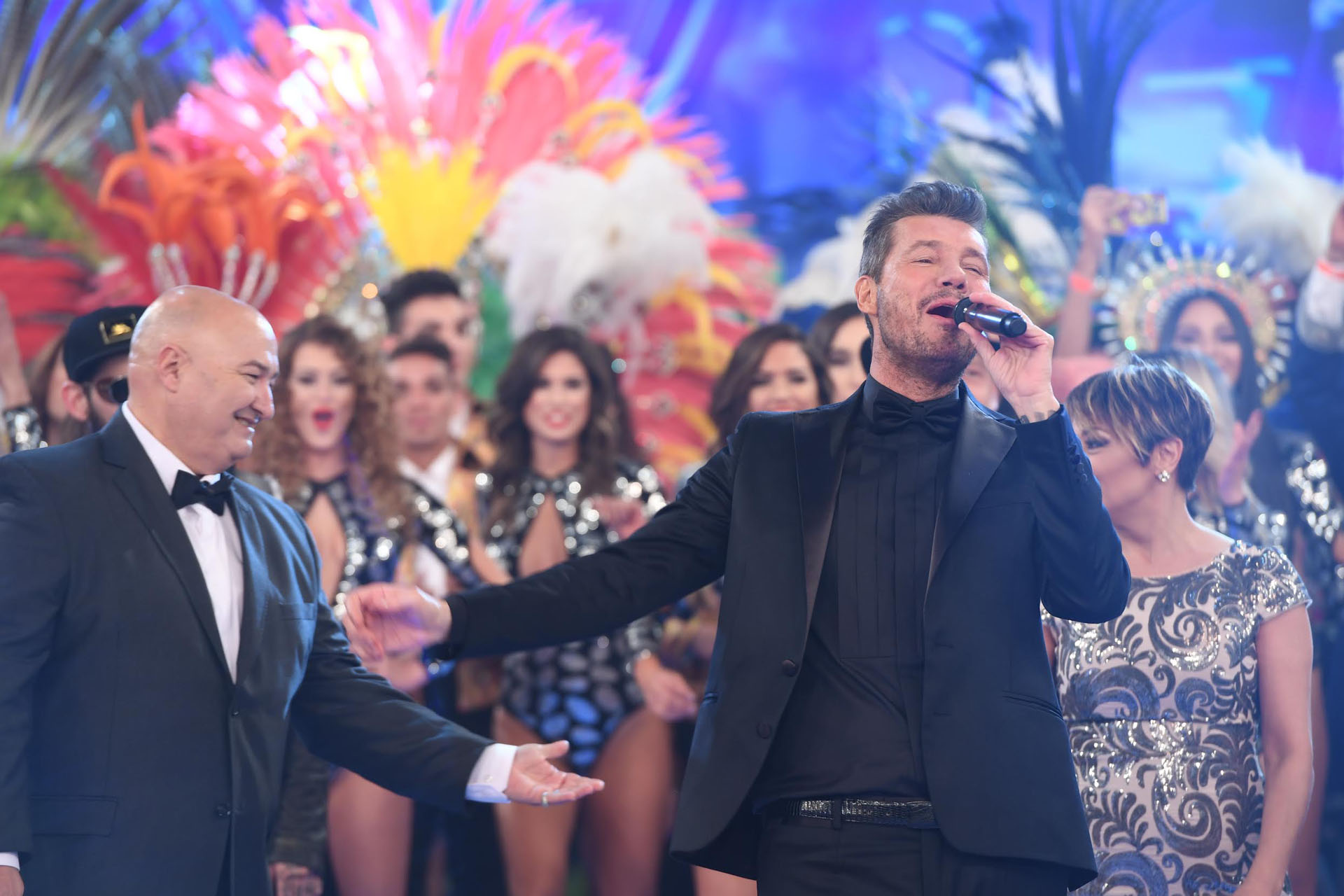 Marcelo Tinelli en el regreso de ShowMatch