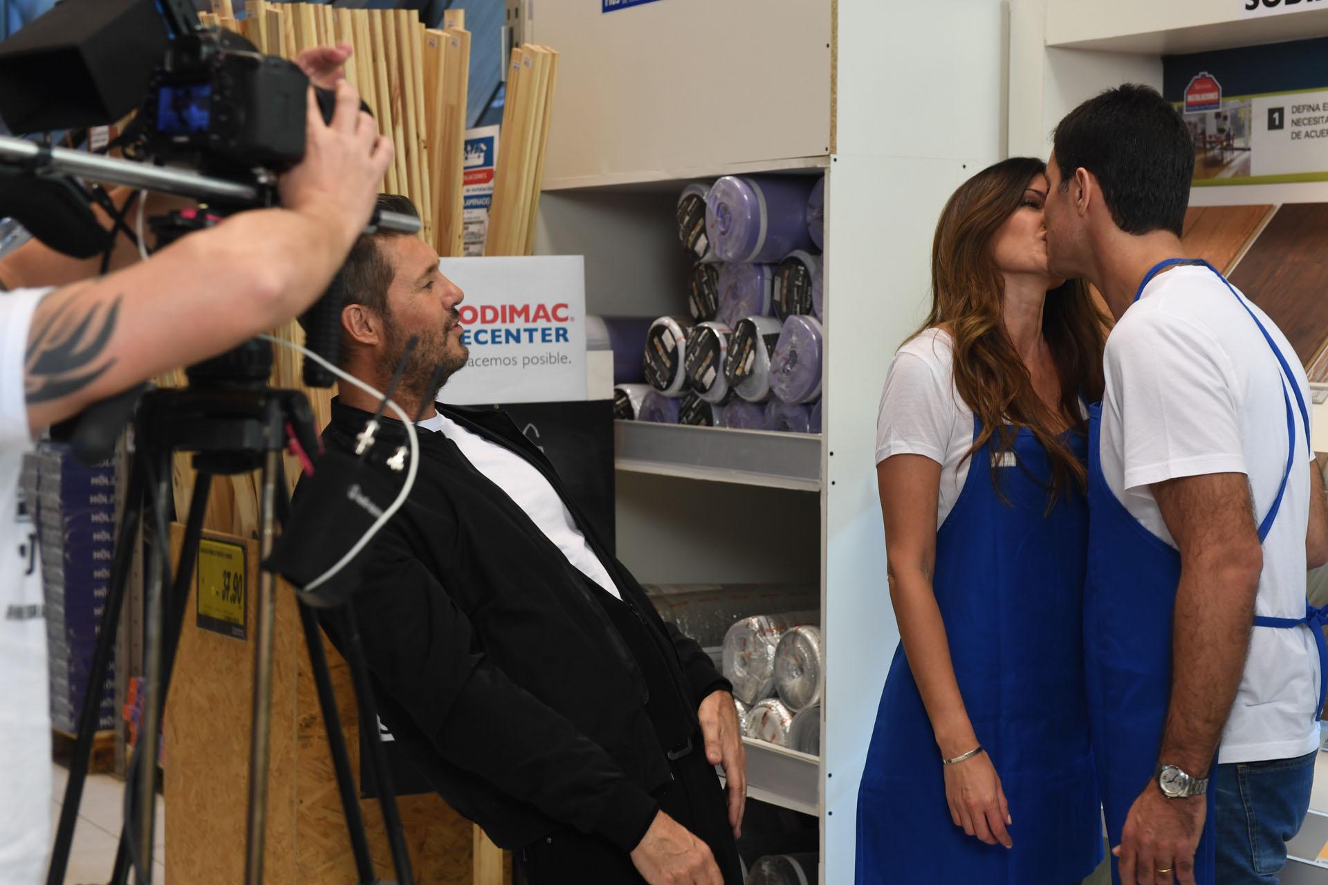 El beso de Urtubey y Macedo ante Tinelli