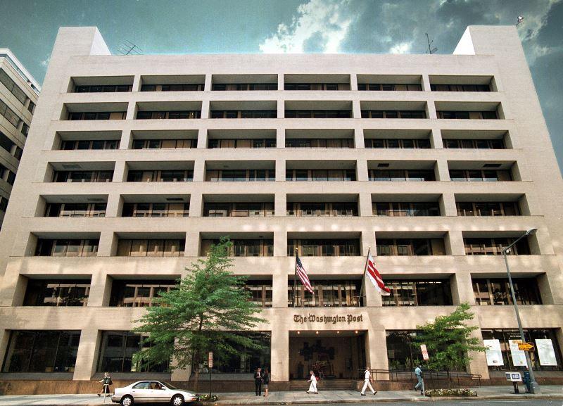 Oficinas centrales del Washington Post.