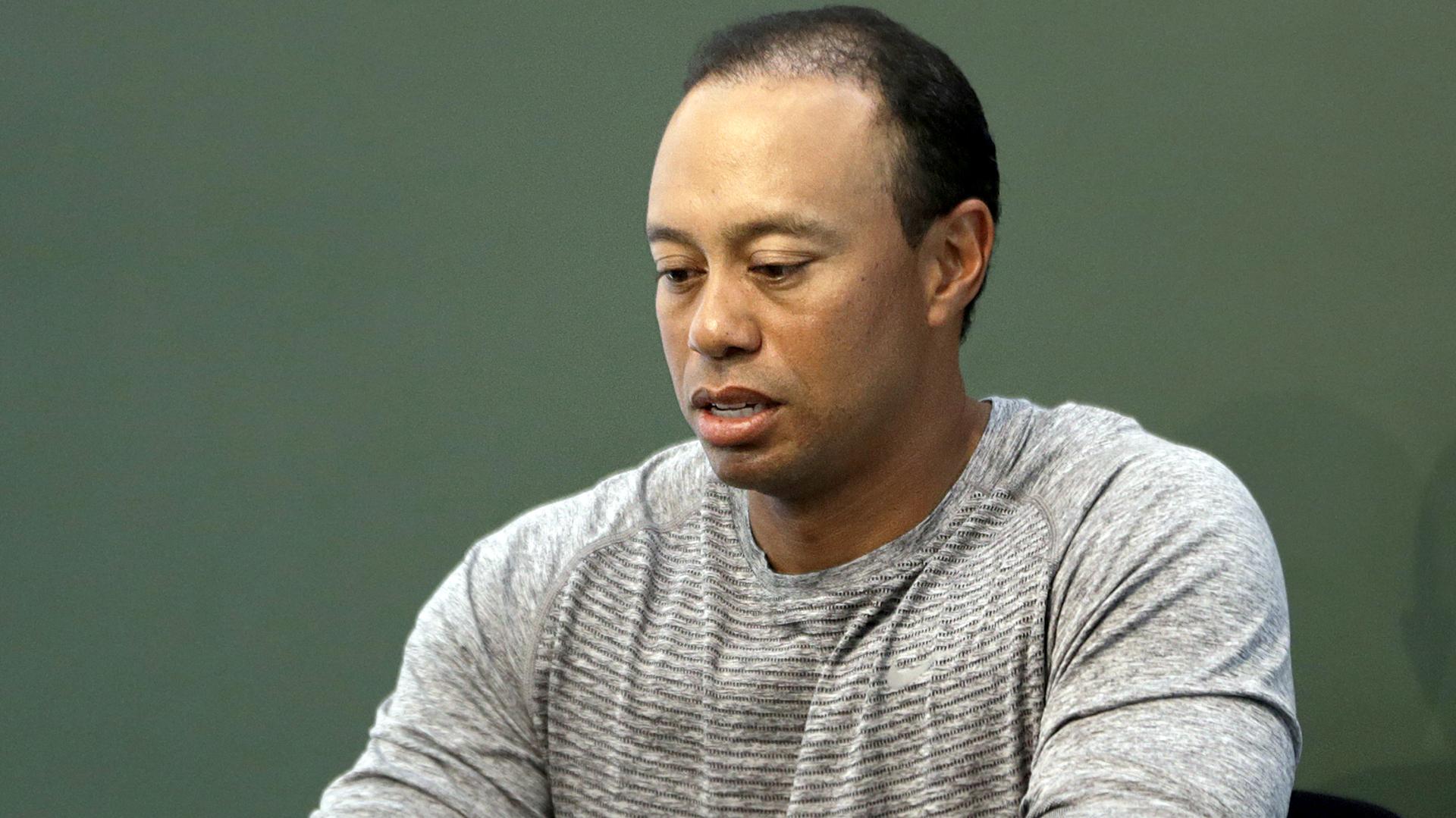 Tiger Woods no quiere perder la custodia compartida de sus hijo(AP)