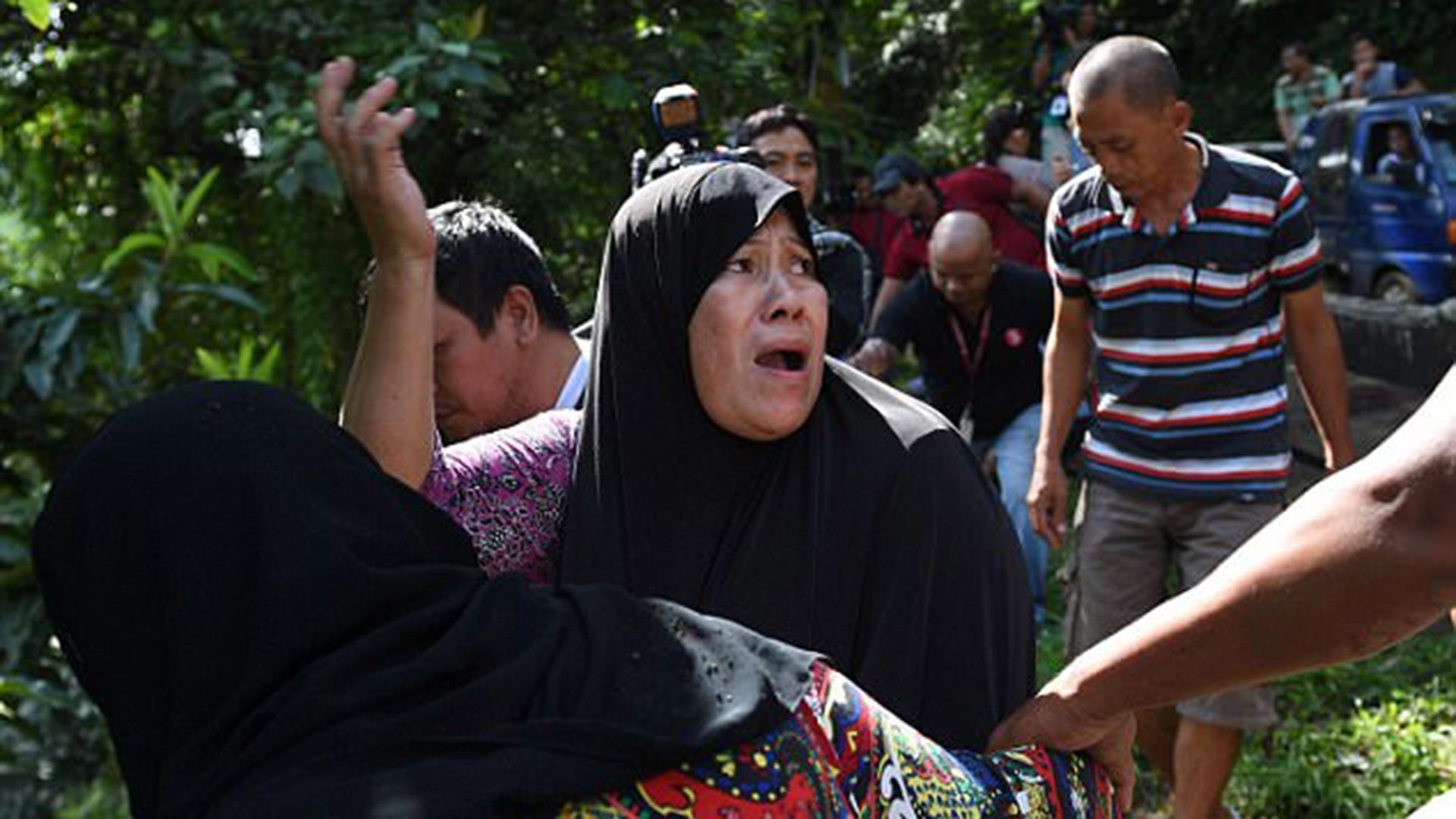 Los enfrentamientos entre el Ejército y el Estado Islámico dejaron más de 100 muertos y miles de evacuados (AFP)