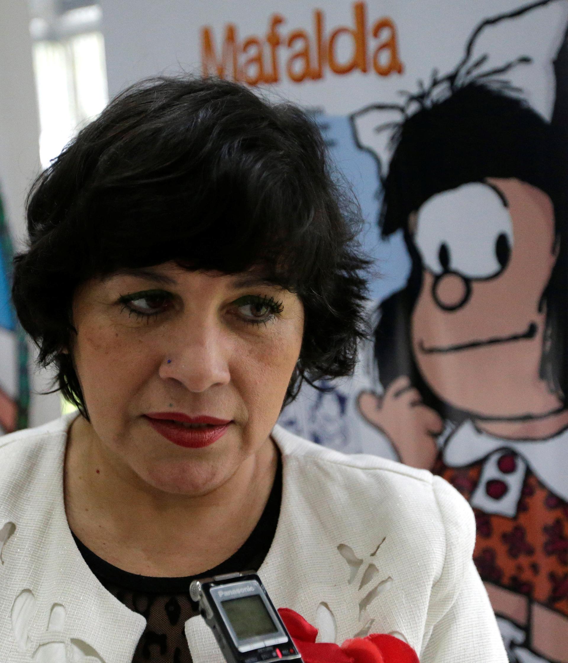 María Gloria Pereira, traductora de la obra al guaraní (Foto: REUTERS)