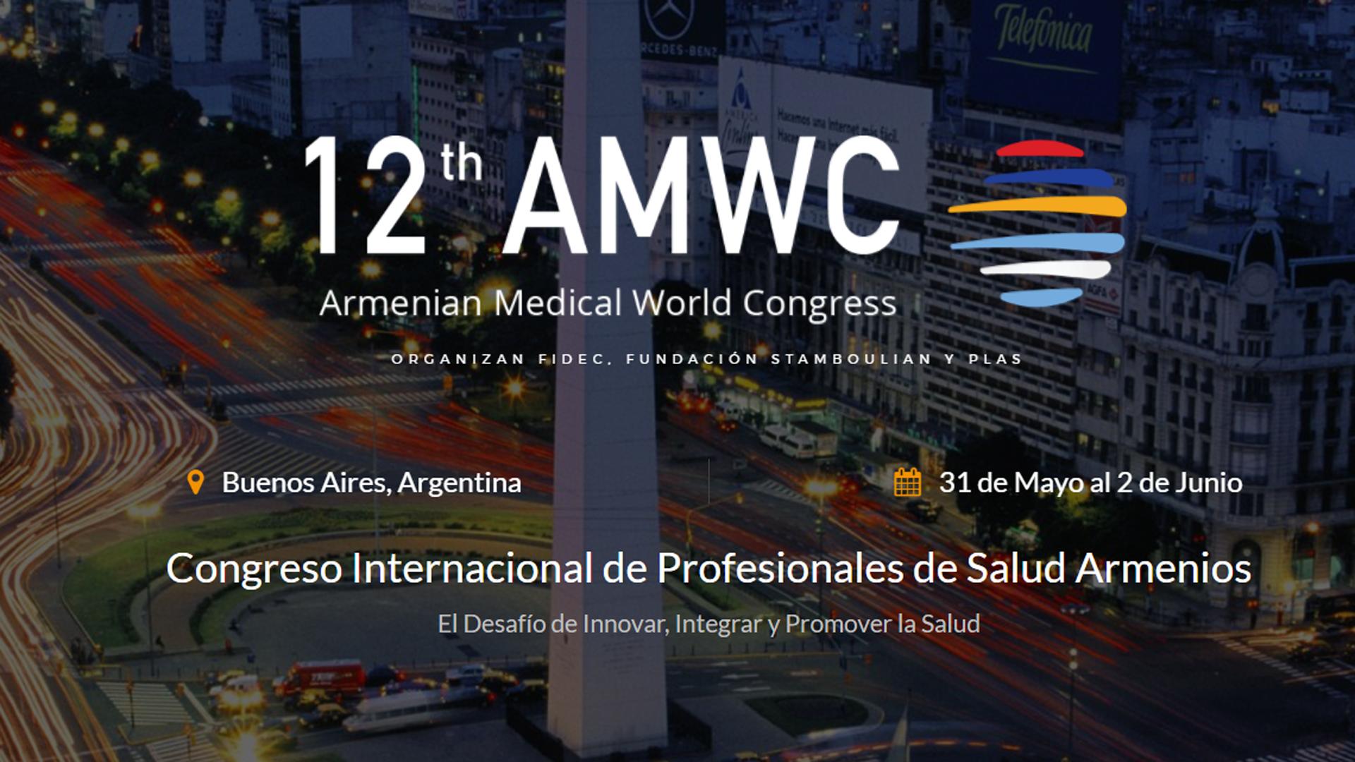 Armenian Medical World Congress es una de las conferencias de impacto internacional más prestigiosas de la escena médica global