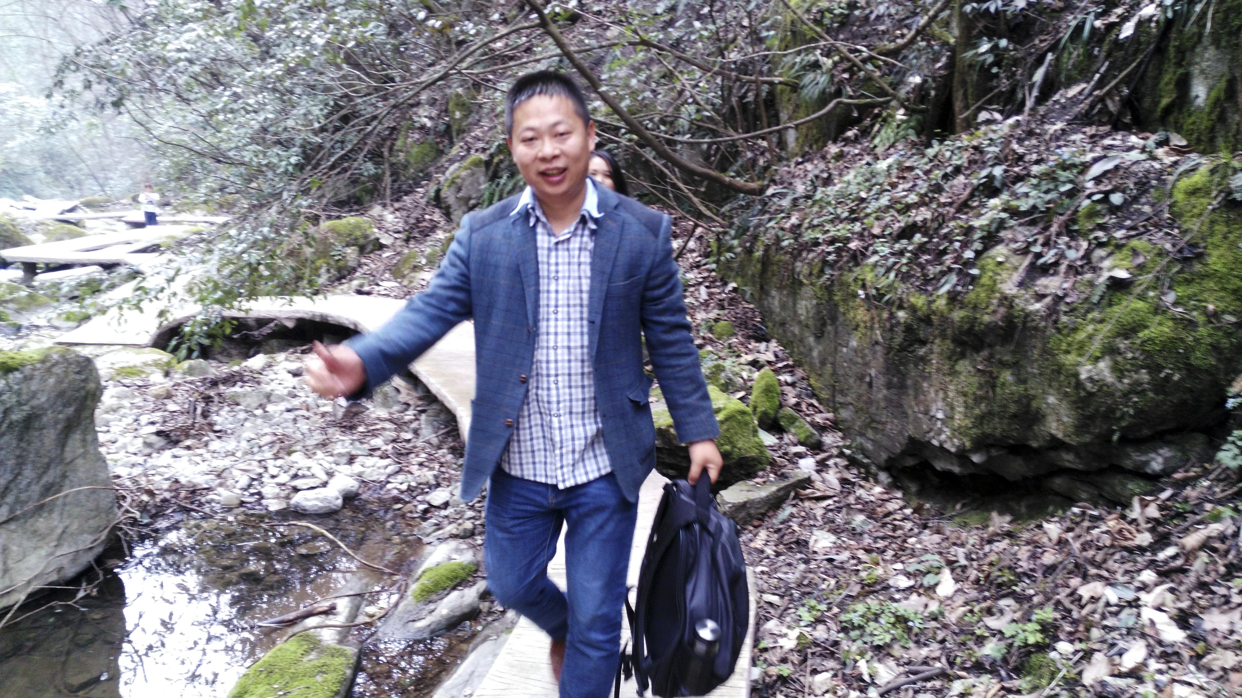 Li Zhao es otro de los activistas desaparecidos (Deng Guilian via AP)