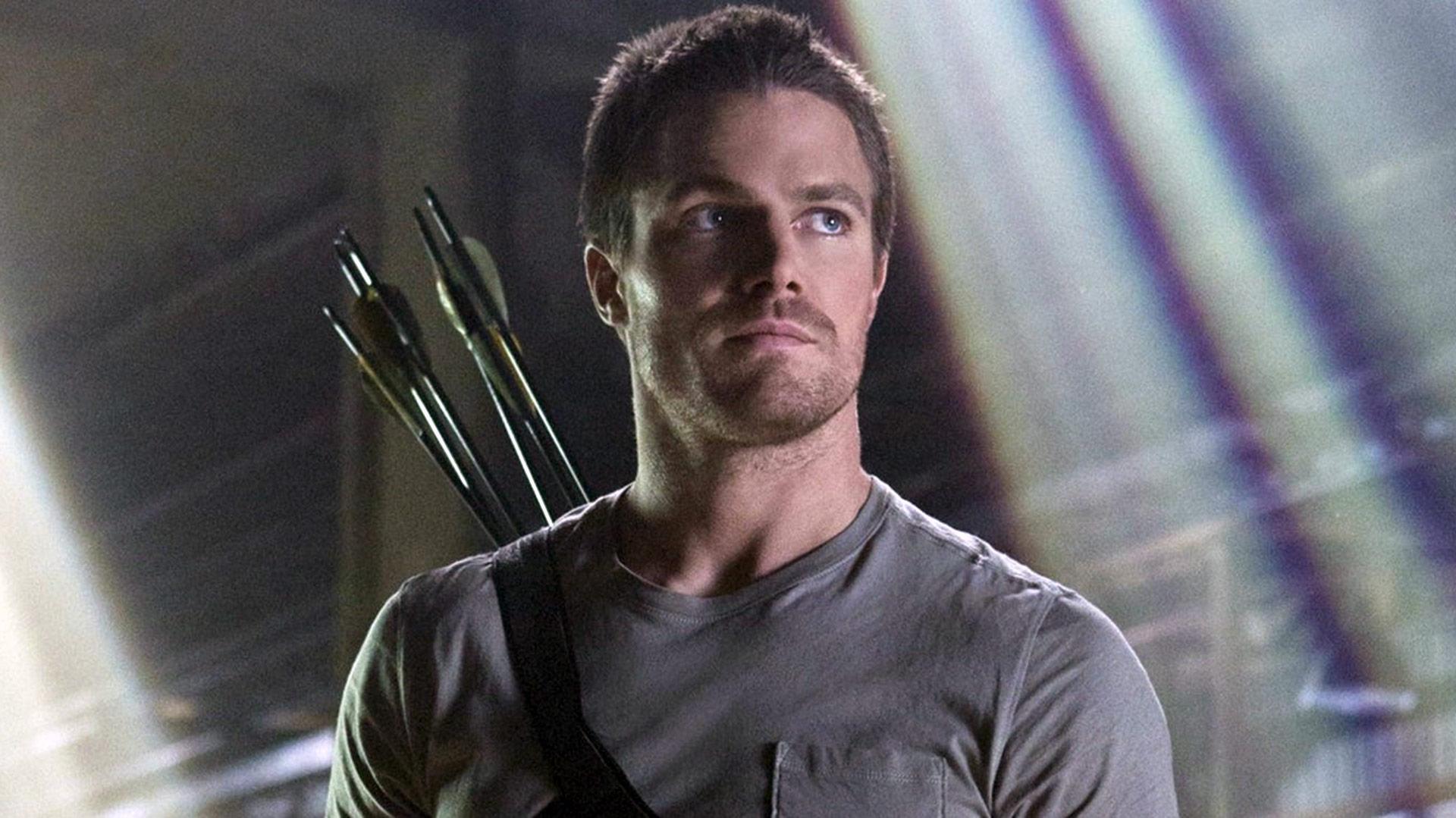 """Stephen Amell en """"Arrow"""""""