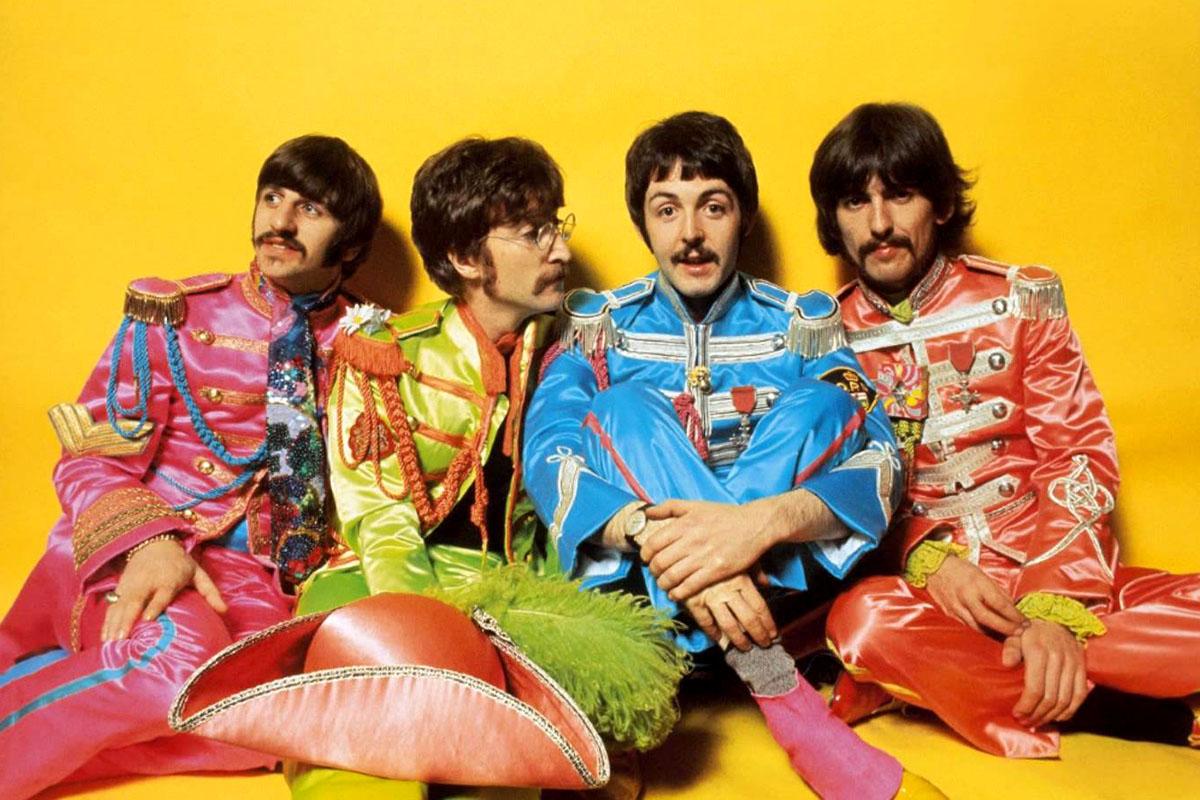 Ringo Starr, John Lennon, Paul McCartney y George Harrison