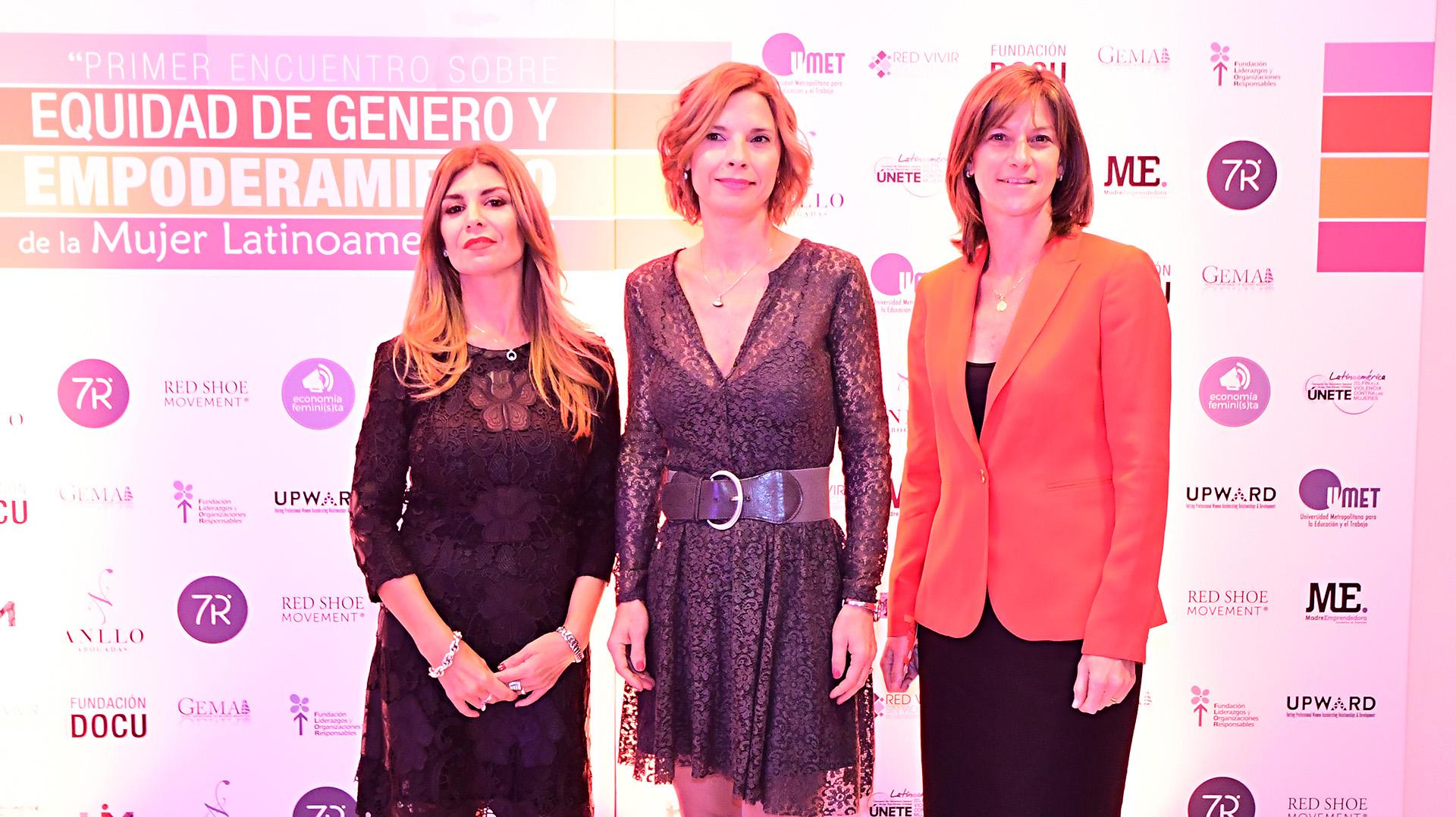 Lina Anllo, Mariana Carabajal y María José Gómez