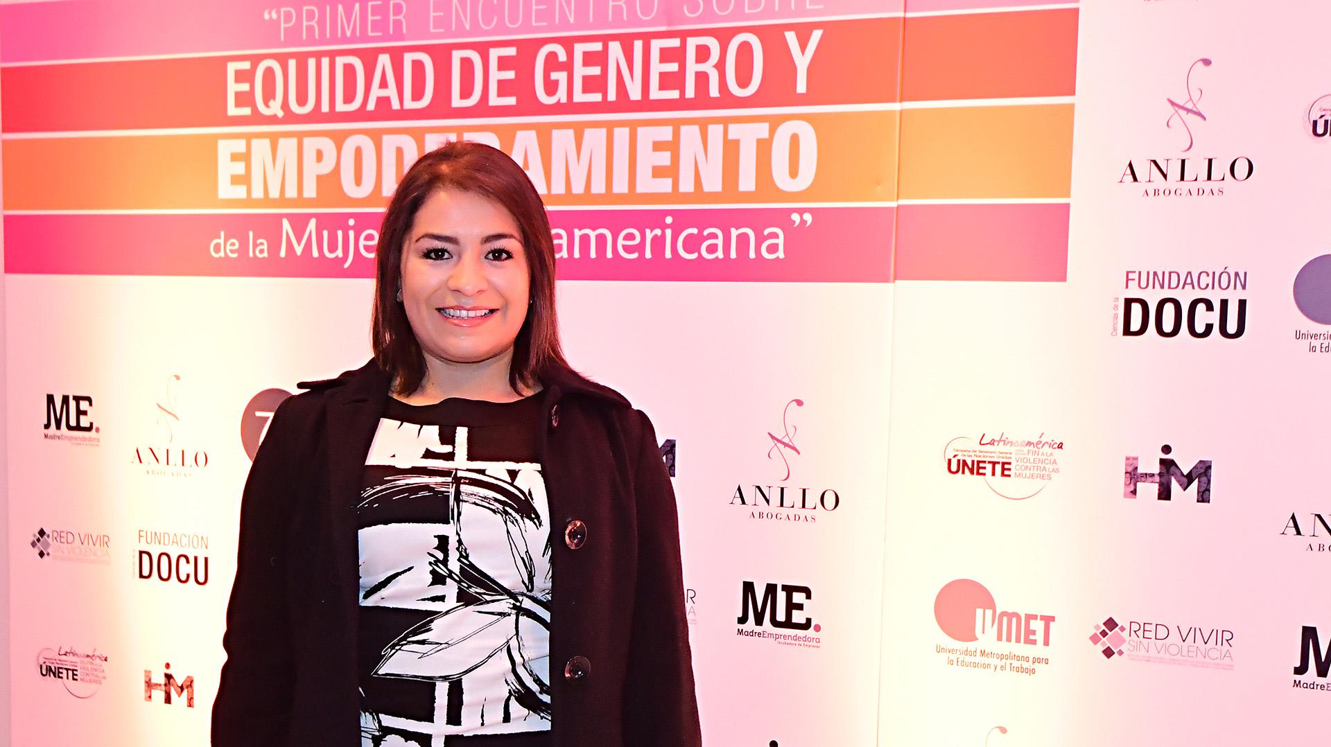 Nadia Sánchez, emprendedora y fundadora de She Is, que trabaja con mujeres víctimas del conflicto armado en Colombia