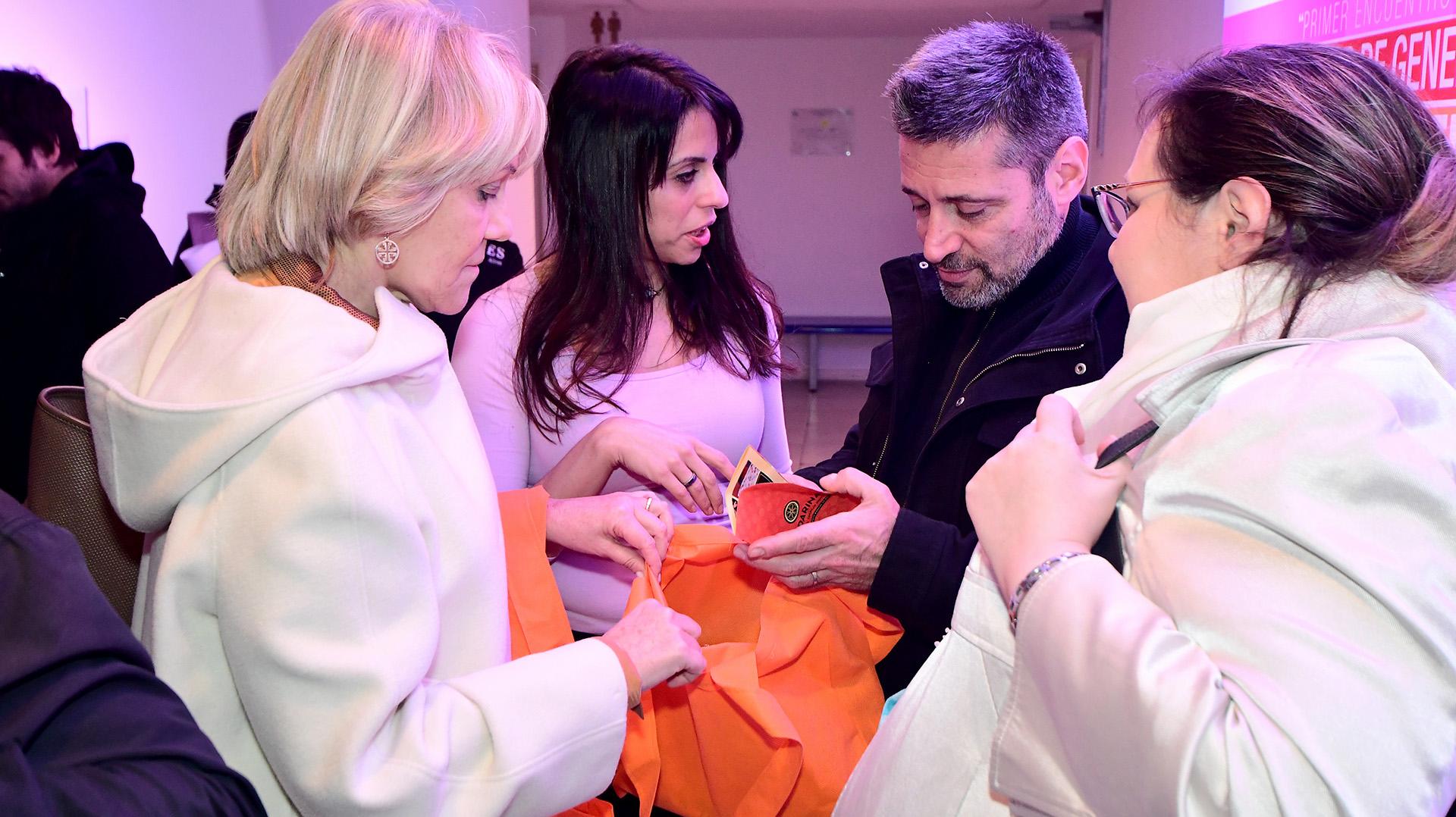 Alejandra Rafuls, Victoria Donda, Víctor Santa María, Graciana Peñaflor