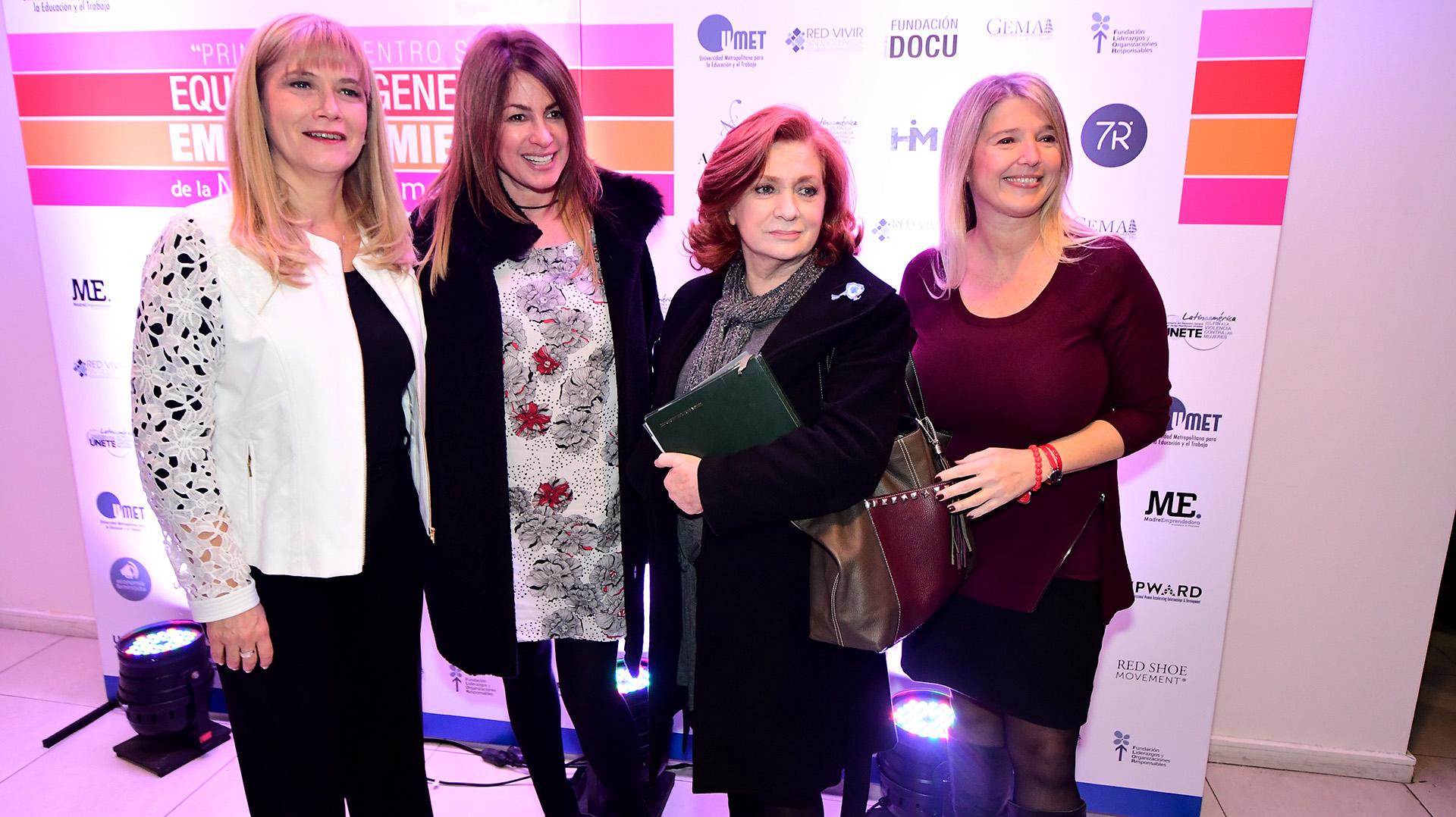 Verónica Magario, Andrea Campbell, Teresa González Fernández, Cristina Álvarez Rodríguez