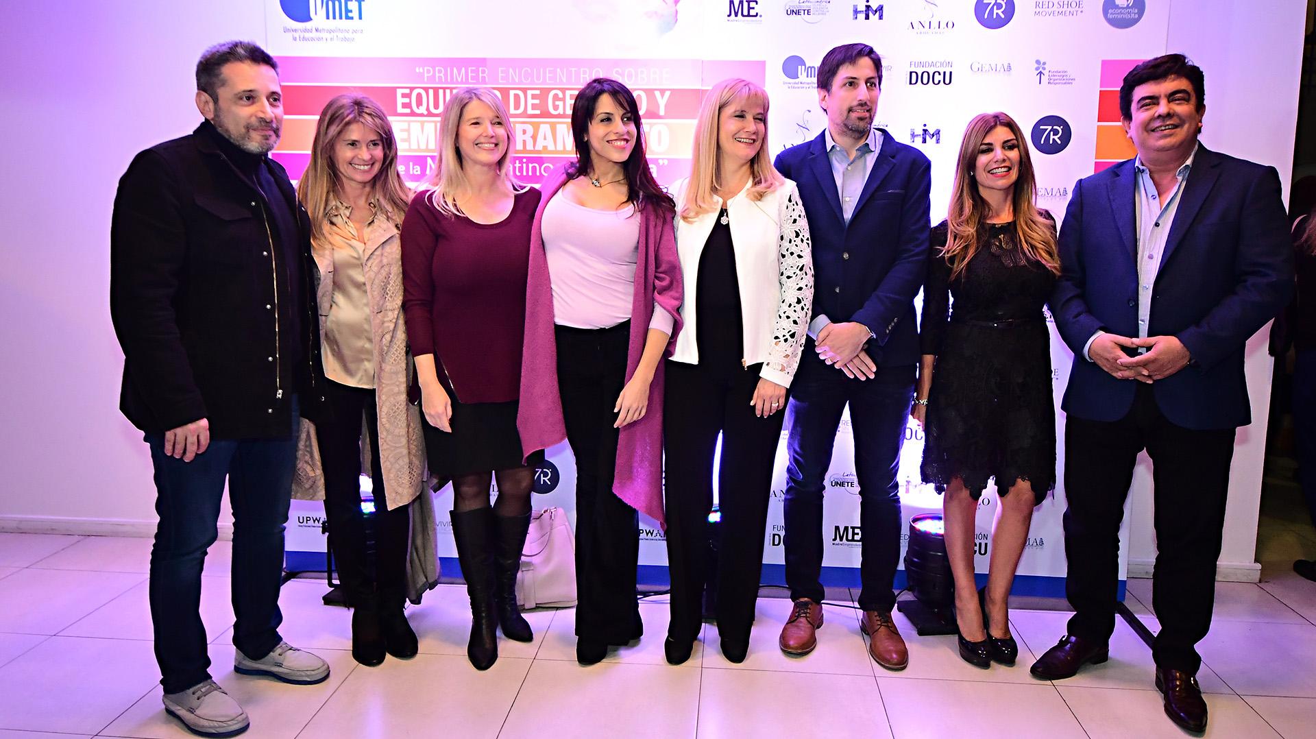 Víctor Santa María, María Laura Leguizamón, Crístina Álvarez Rodríguez, Victoria Donda, Verónica Magario, Nicolás Trotta, Lina Anllo, Fernando Espinoza