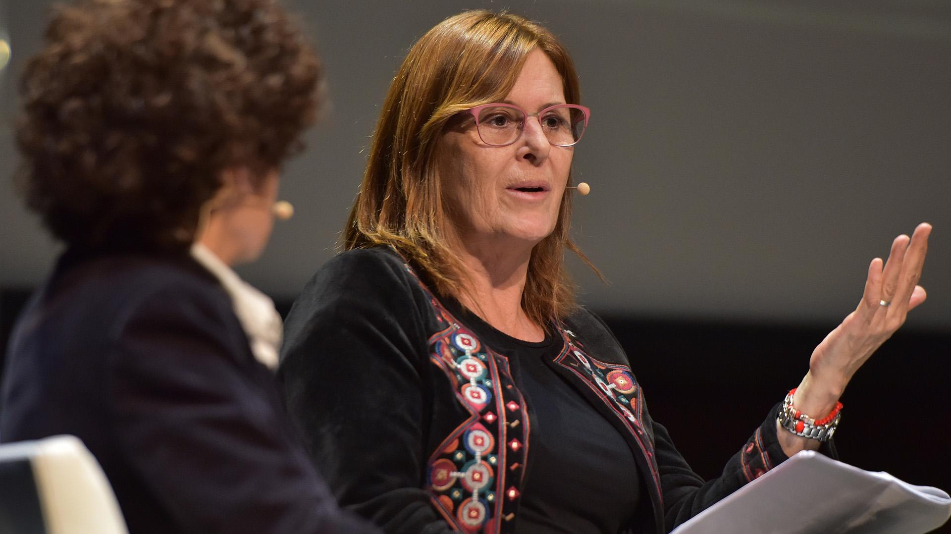 Silvia Gabriela Lommi, del Consejo Nacional de las Mujeres