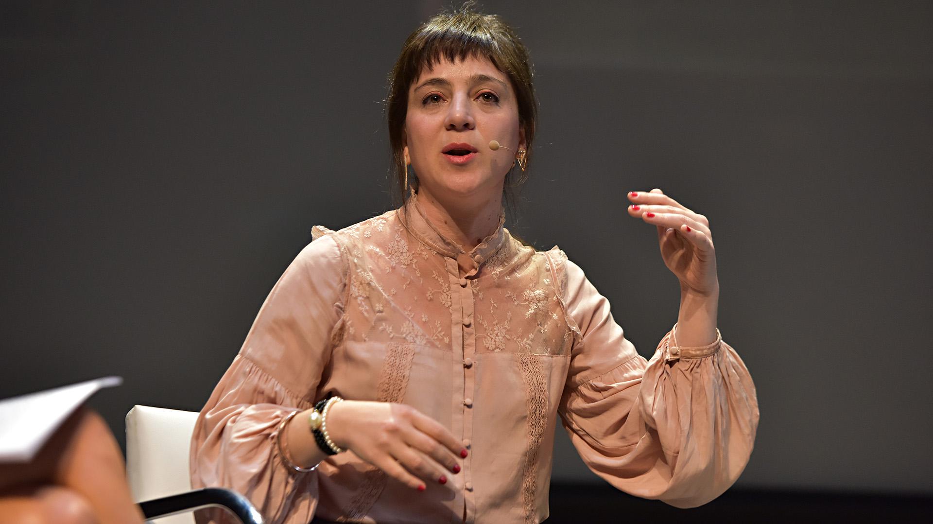 Mercedes D'Alessandro esautora del libro 'Economía Feminista. Como construir una sociedad igualitariasin perder el glamour'