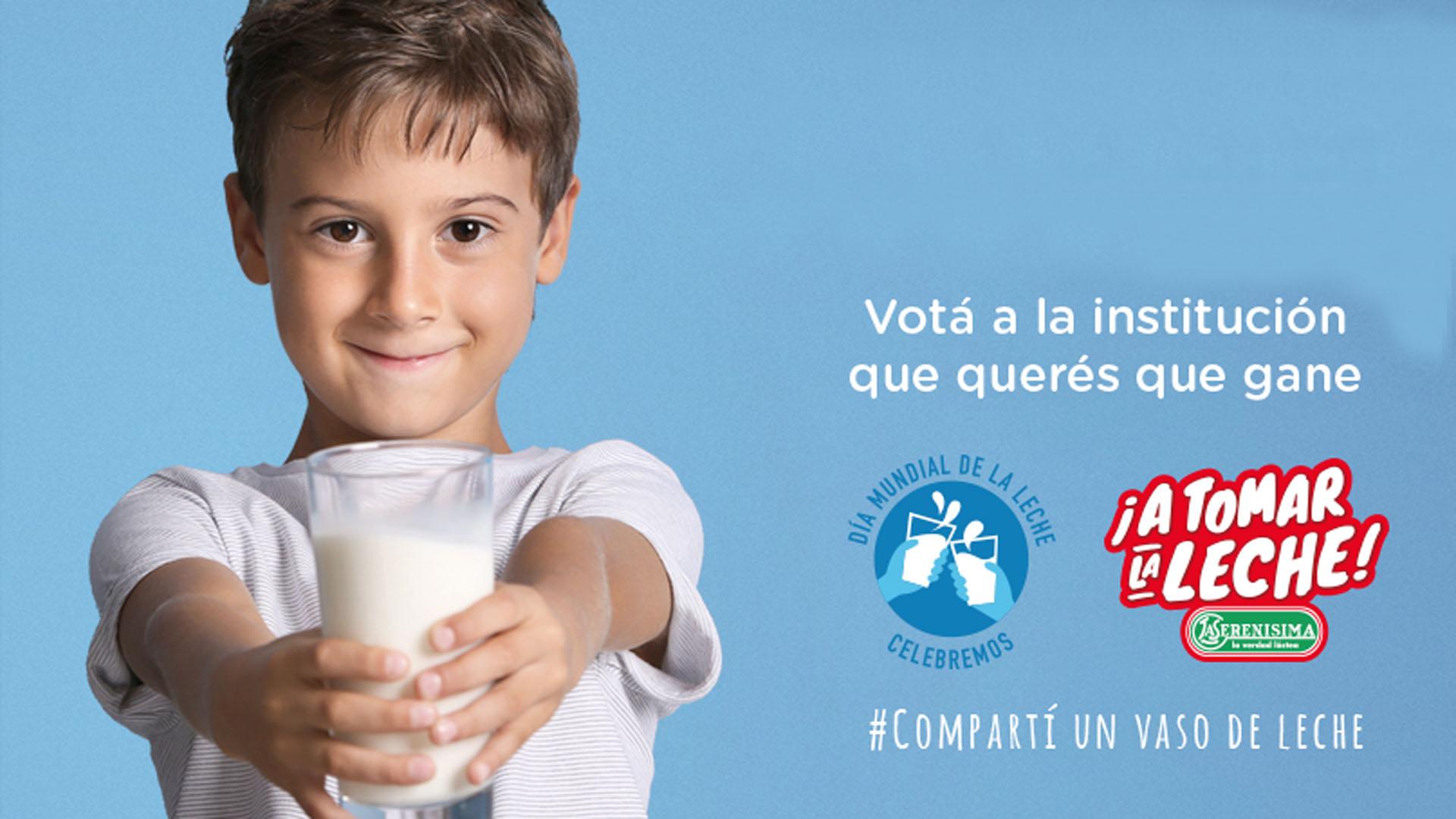 Campaña solidaria promovida por La Serenísima