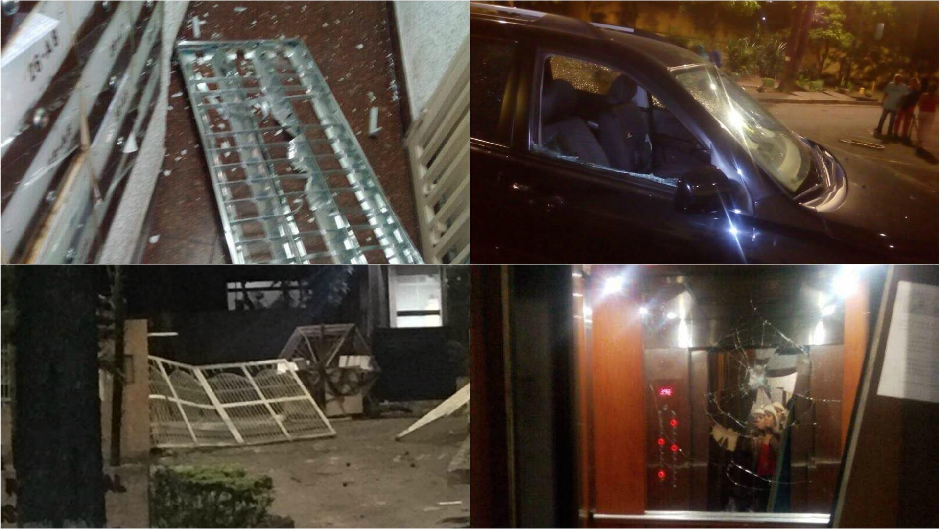 Anel Rodríguez Desnuda fuerzas chavistas causaron destrozos y amedrentaron a