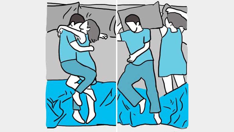 Generalmente se da por diez minutos hasta que las personas se acomodan para dormir
