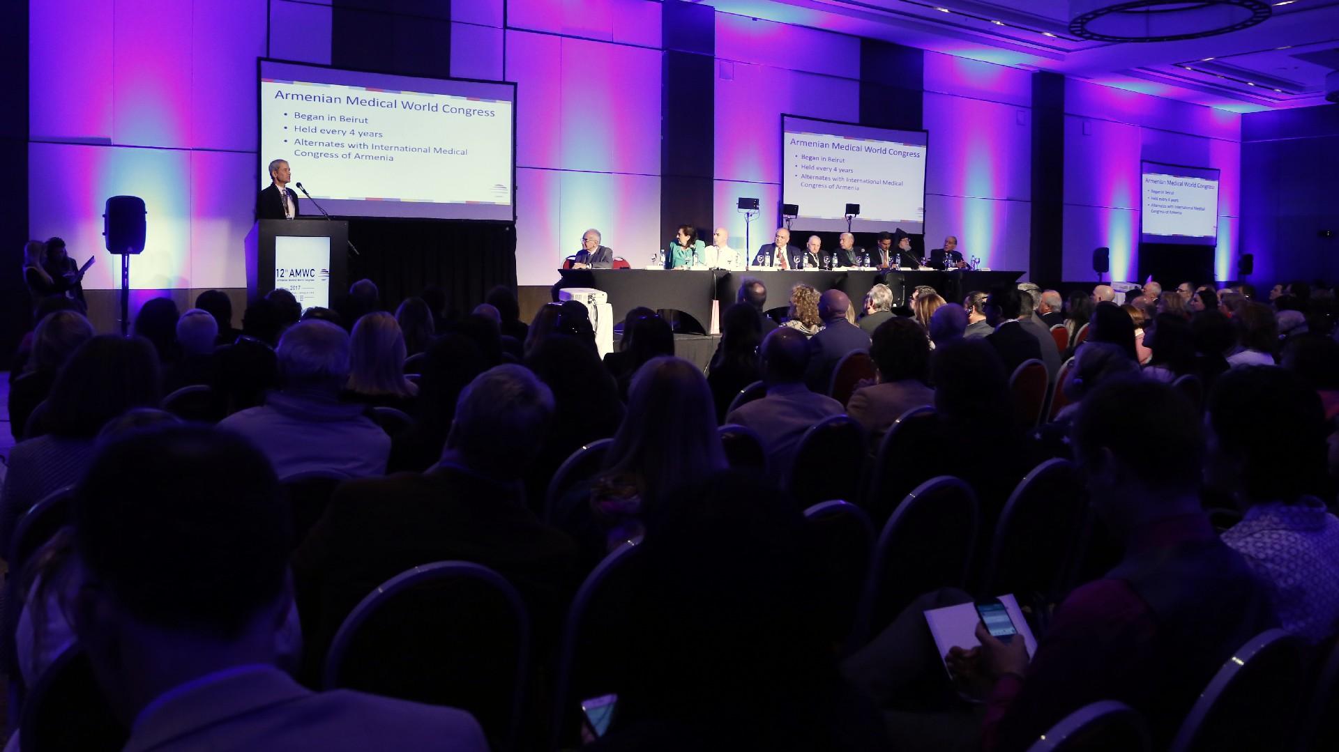 El Hotel Hilton de Buenos Aires hospedó, a sala llena, la gala de apertura del prestigioso congreso de salud