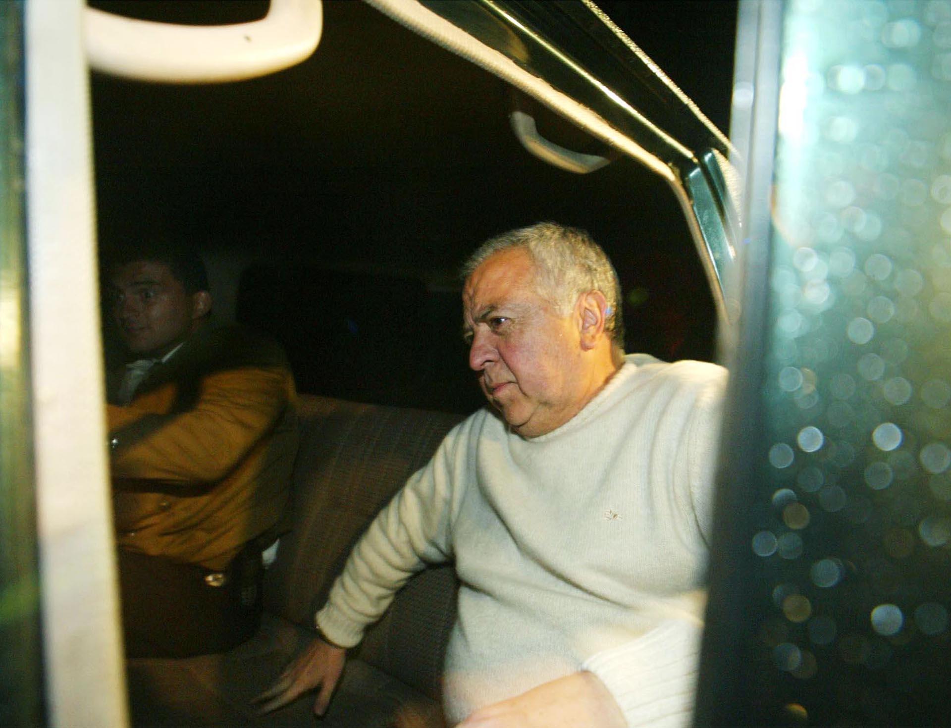 Gilberto Rodríguez Orejuela fue extraditado a Estados Unidos en diciembre de 2004. Fue sentenciado a 30 años de prisión (Getty Images)