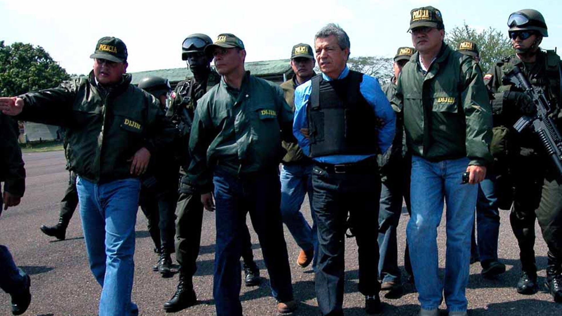 Miguel Rodríguez Orejuela fue extraditado a Estados Unidos en marzo de 2005. También recibió una pena de 30 años