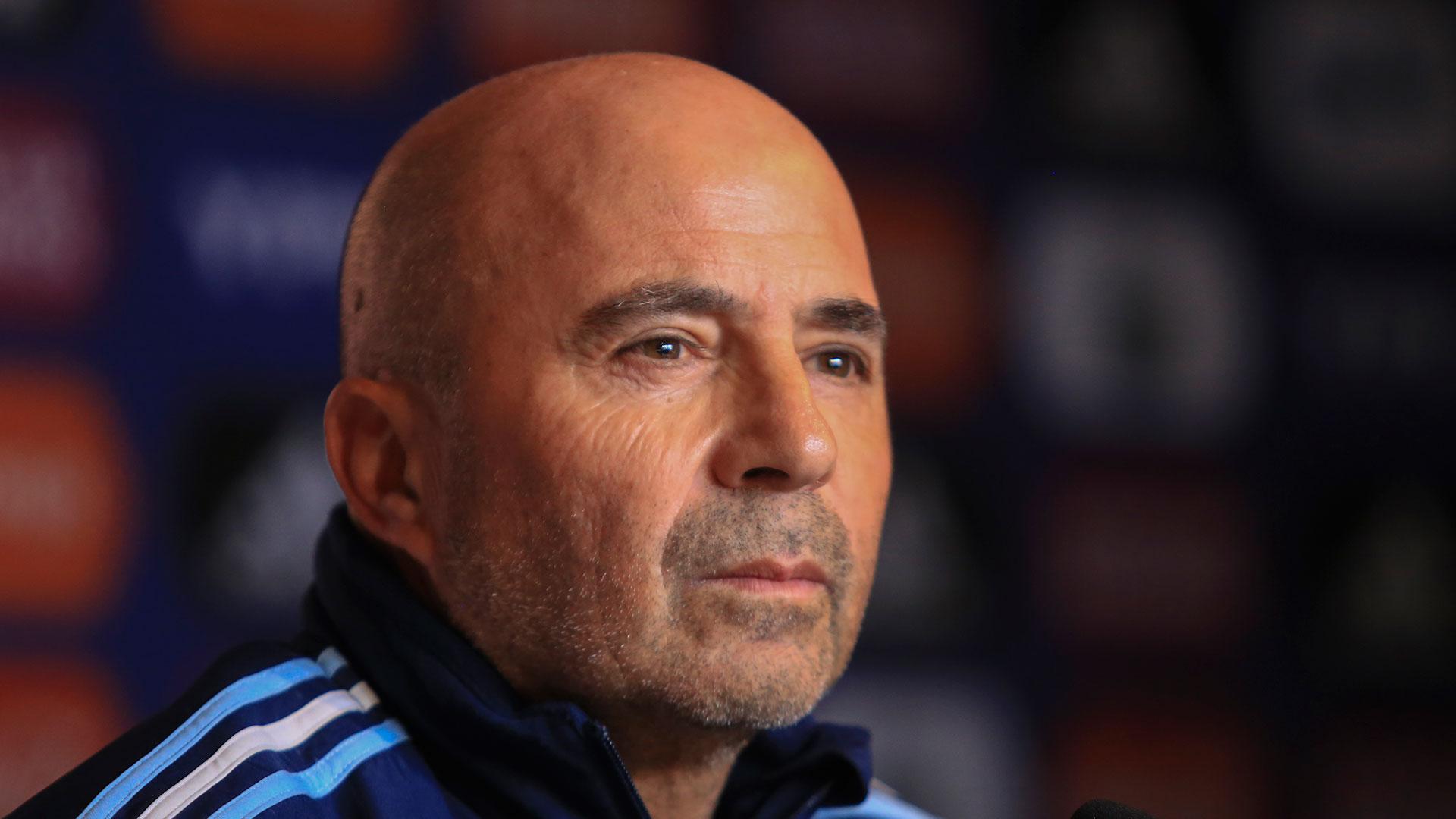 Jorge Sampaoli, preocupado por la lesión de Eduardo Toto Salvio (NA)