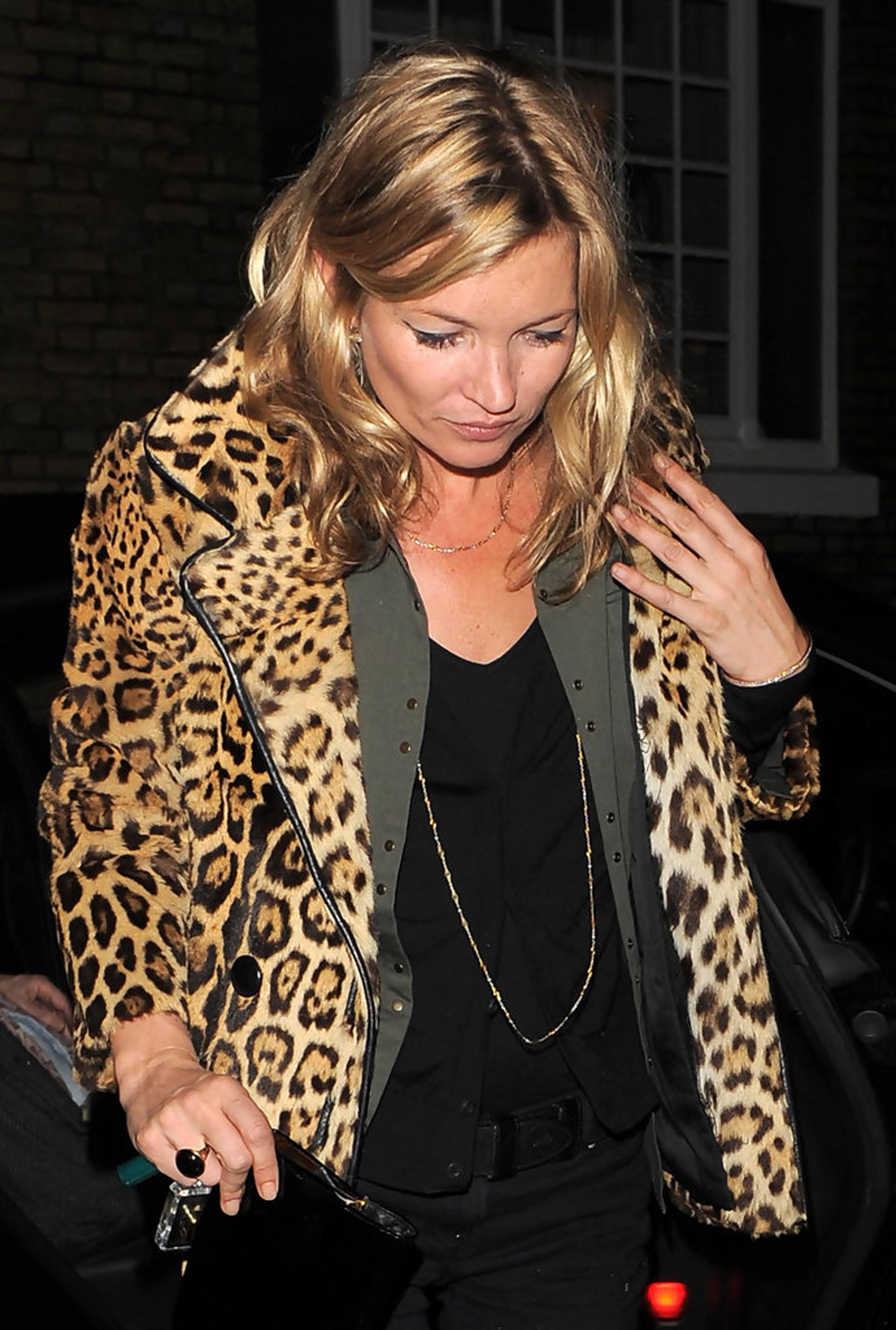 Los abrigos son uno de las prendas con la estampa que Kate tiene en su vestidor
