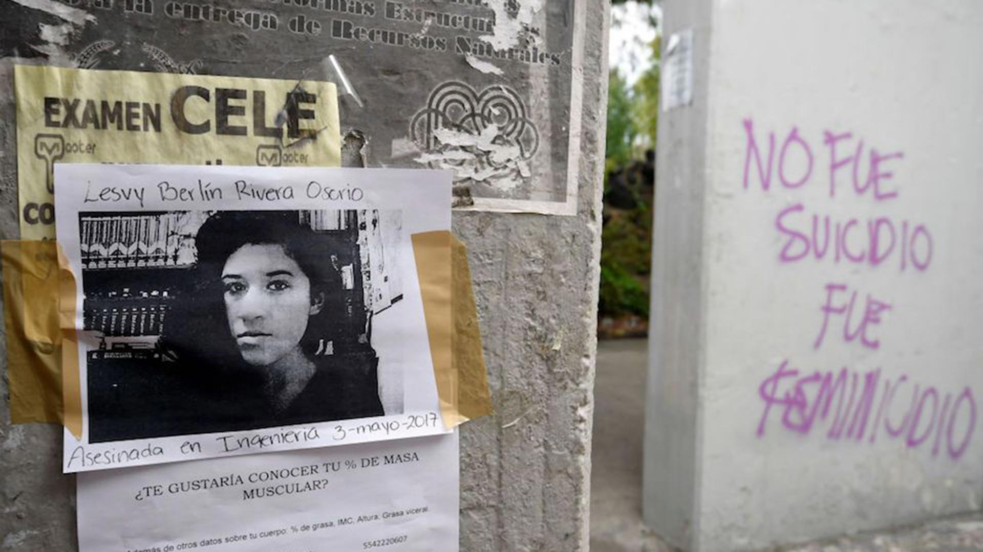 Lesvy berlín Osorio fue asesinada en mayo por el grupo eco-terrorista Individualistas Tendiendo a lo Salvaje (ITS)