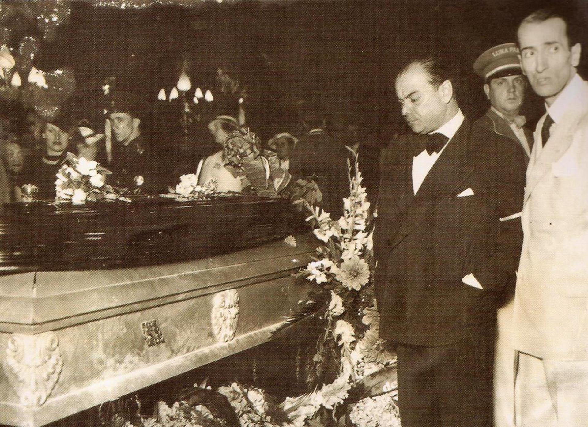 El velatorio de Carlos Gardel se realizó en el mítico Luna Park
