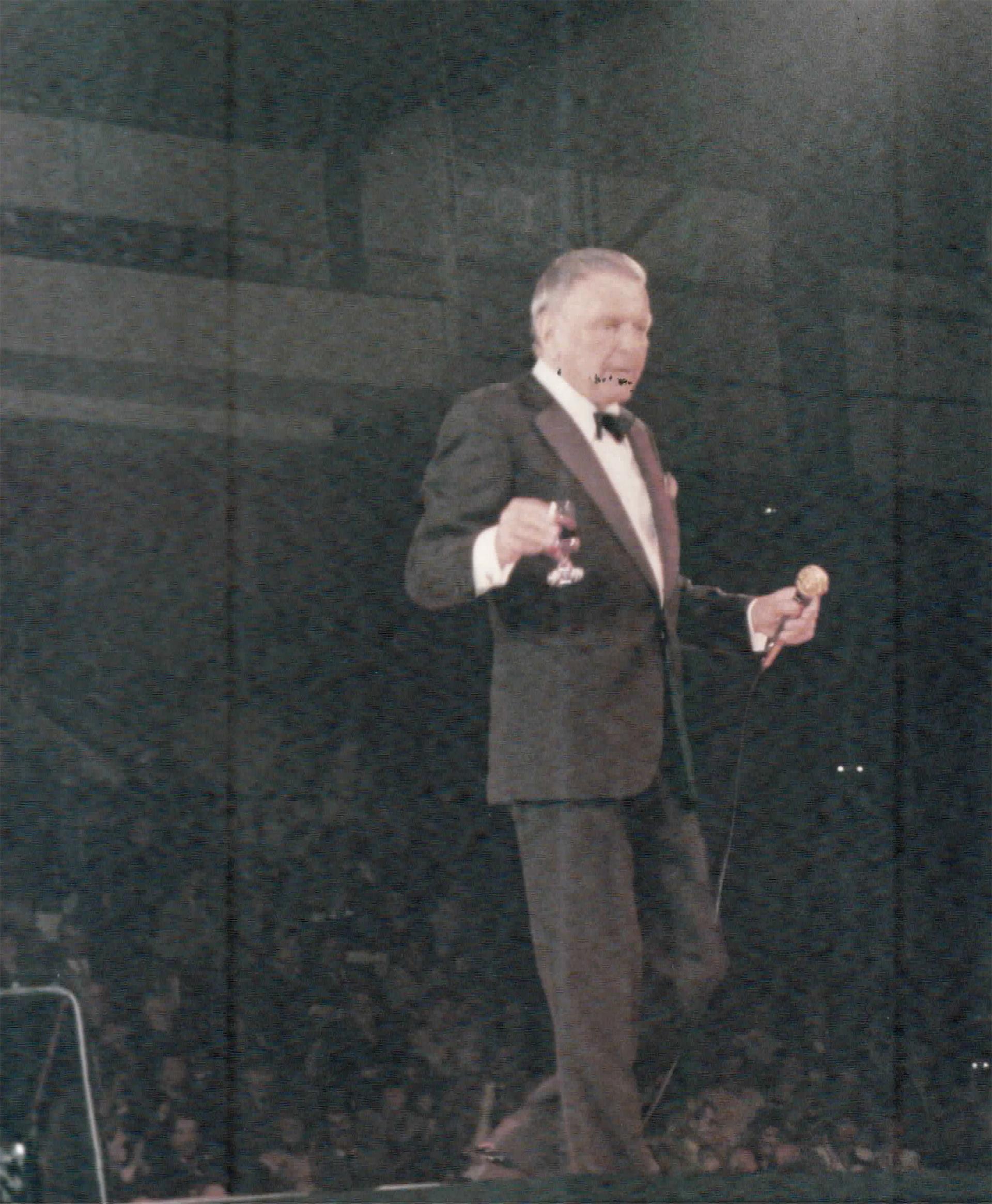 El cantante norteamericano Frank Sinatra también pasó por el Luna Park
