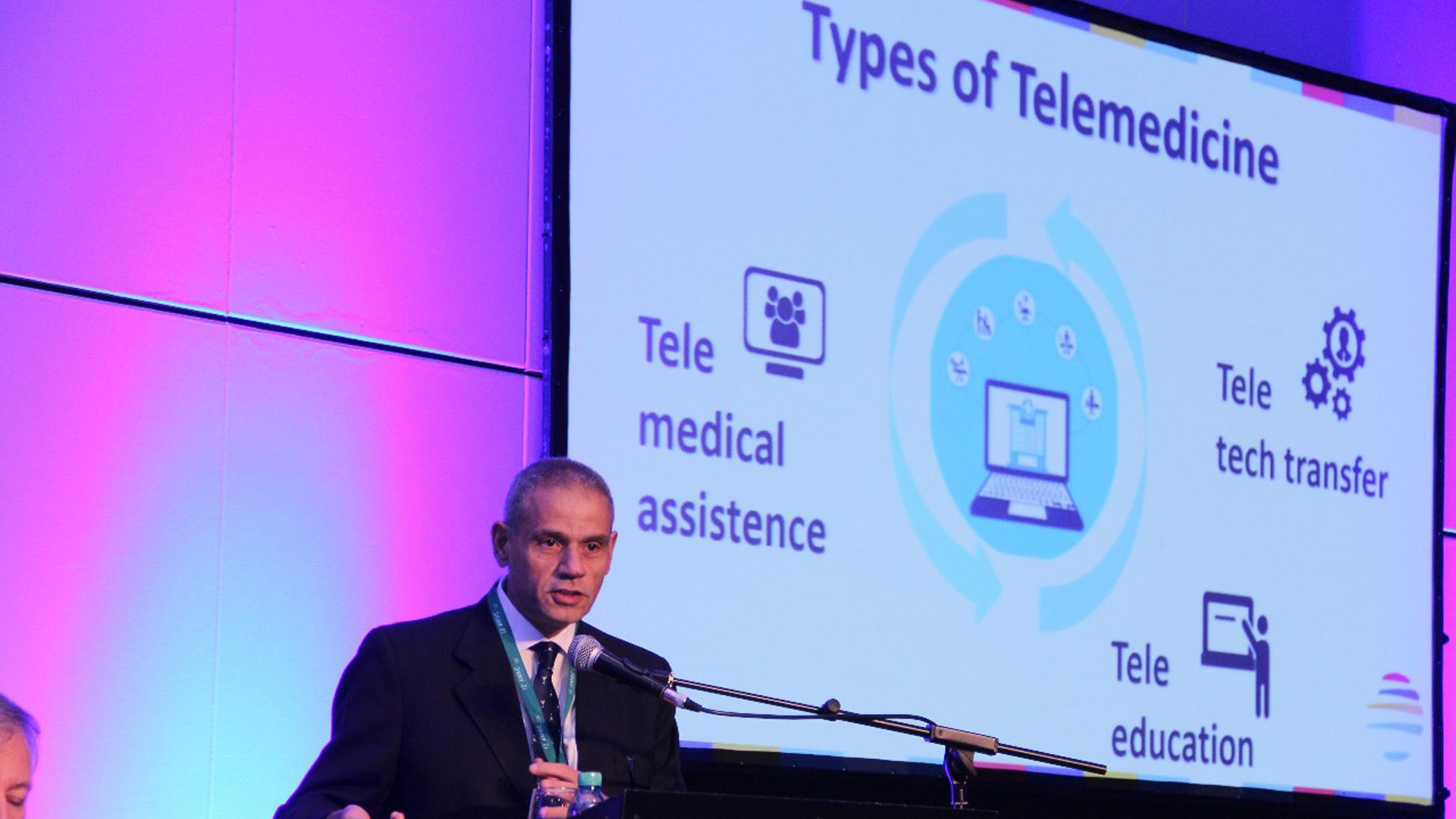 Roberto Debbag, miembro del Consejo de Administración del Hospital Garraham y coordinador del programa nacional de telesalud pediátrica (Francesco Garabello)