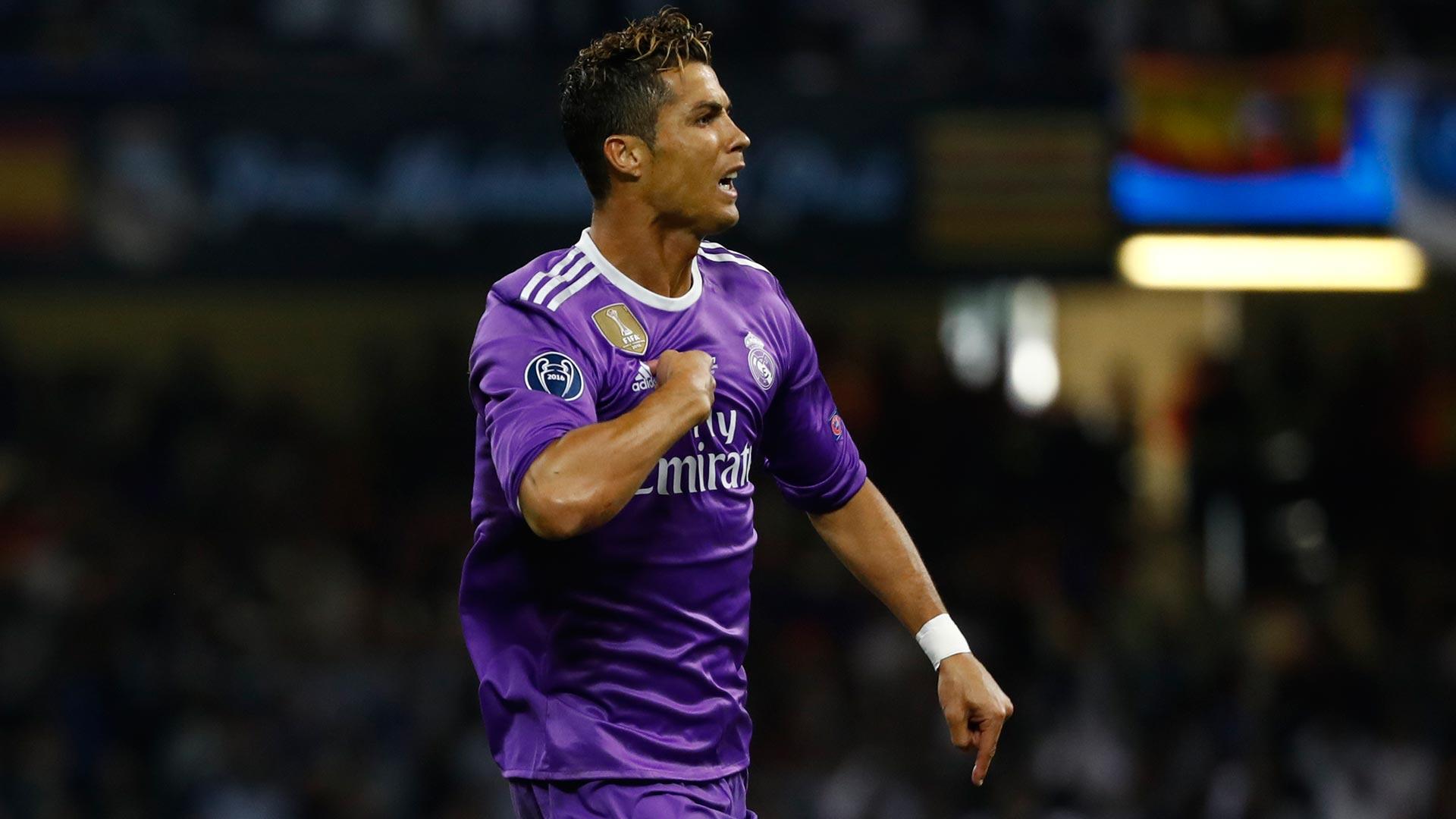 Cristiano Ronaldo celebra el primer gol de la final de la Champions League (Reuters)