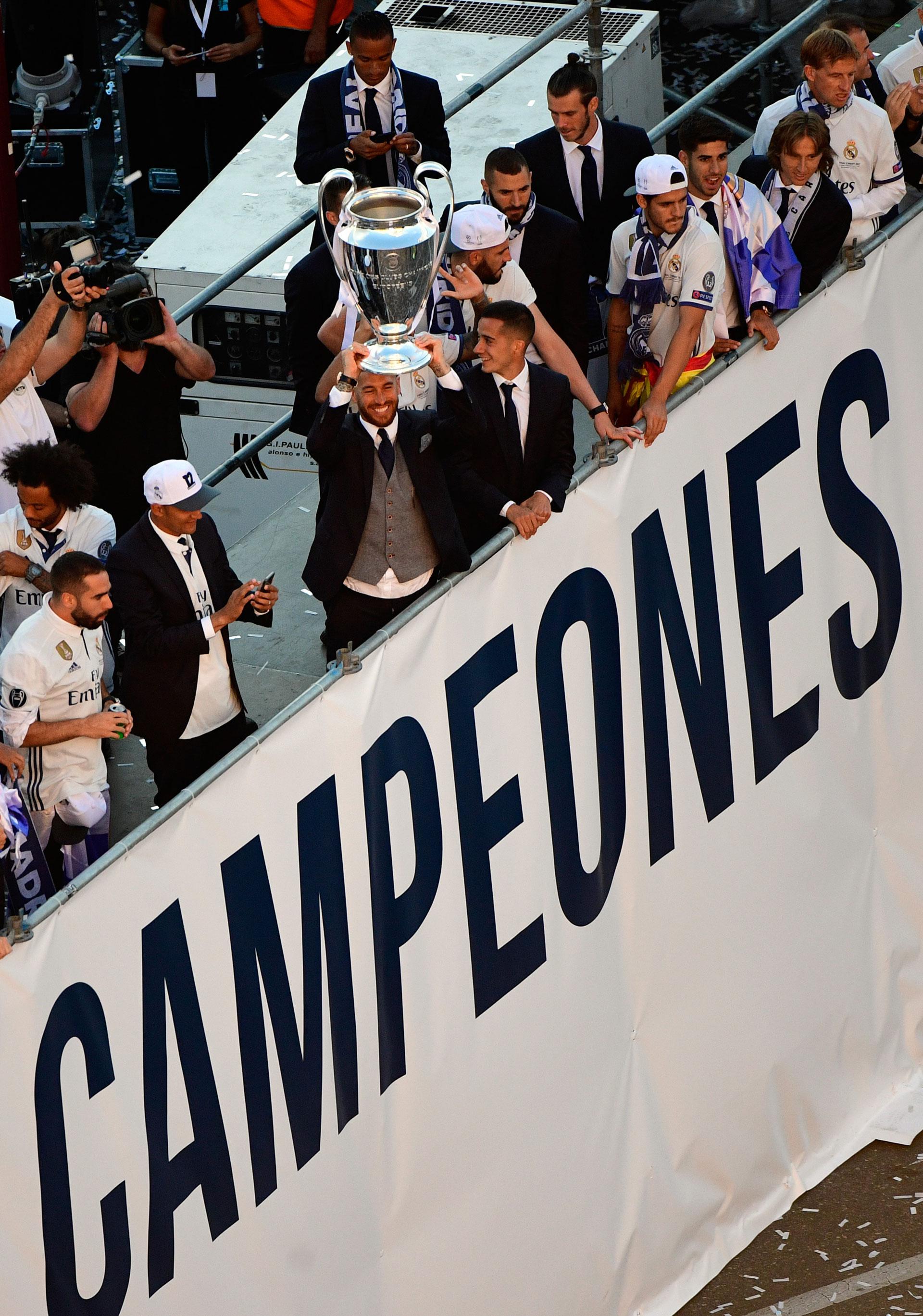 En los últimos cuatro años, Real Madrid ganó tres Champions