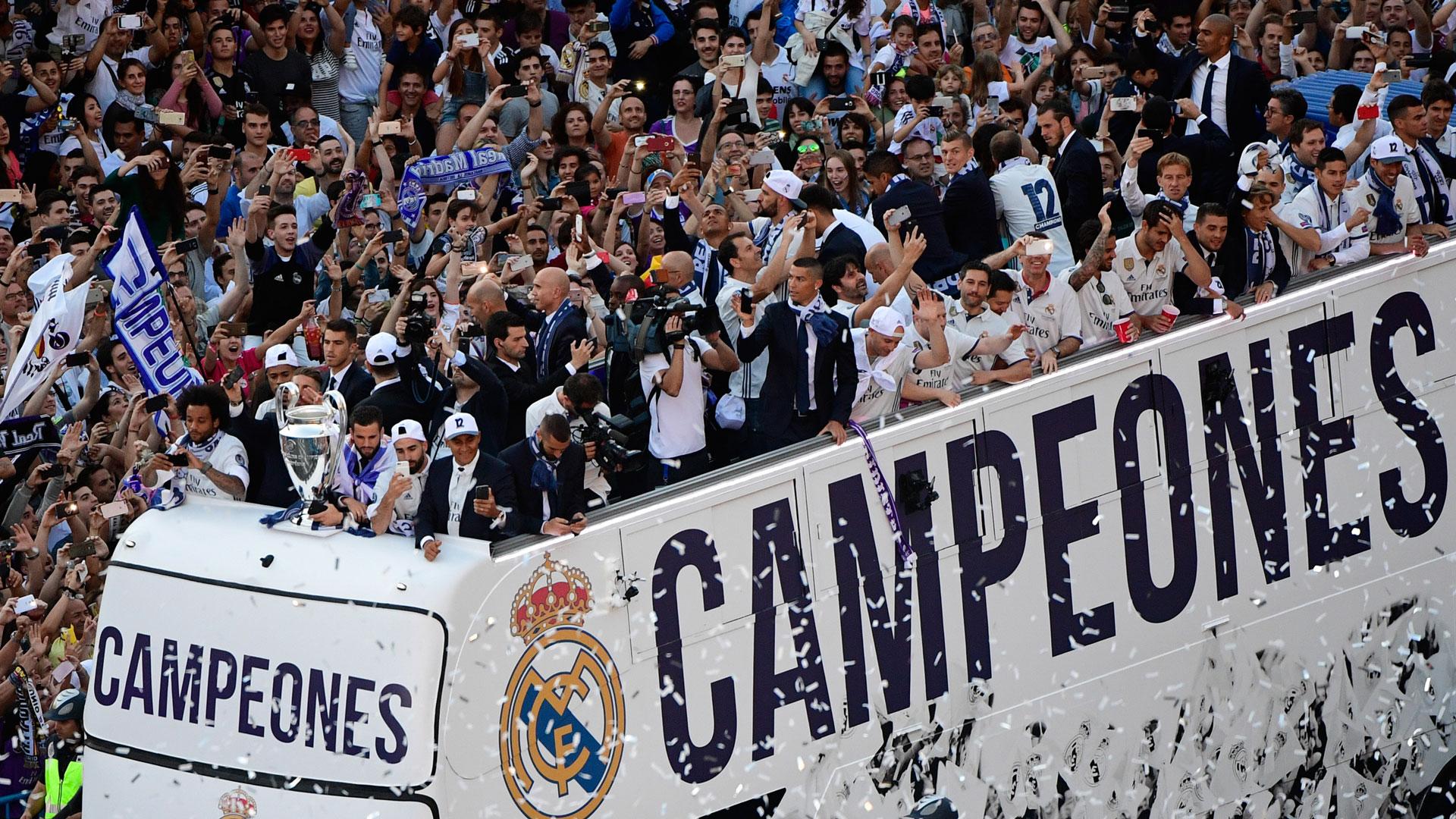 Real Madrid goleó 4 a 1 a la Juventus en la final de la Champions League