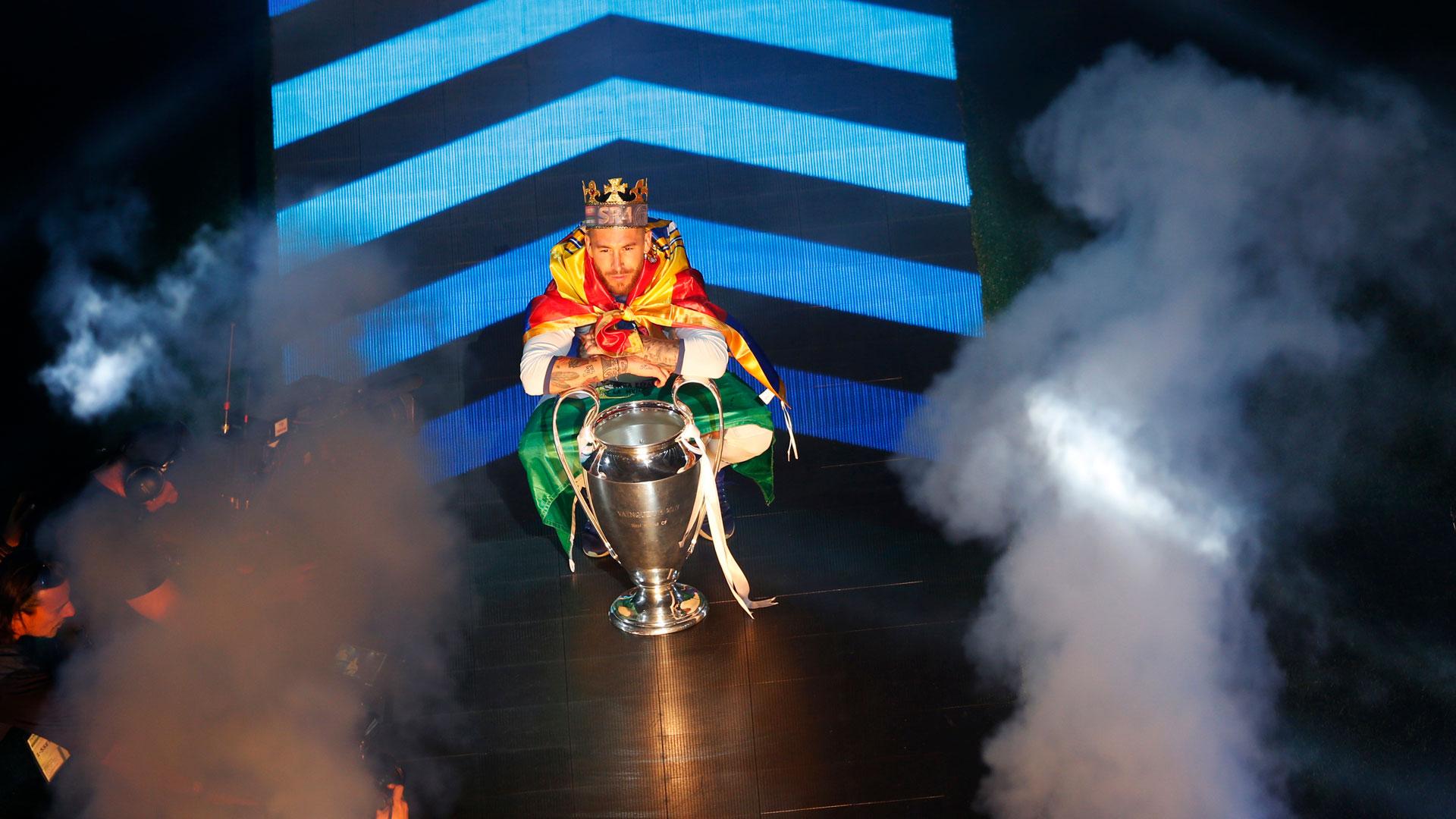 Sergio Ramos es uno de los máximos ídolos del plantel